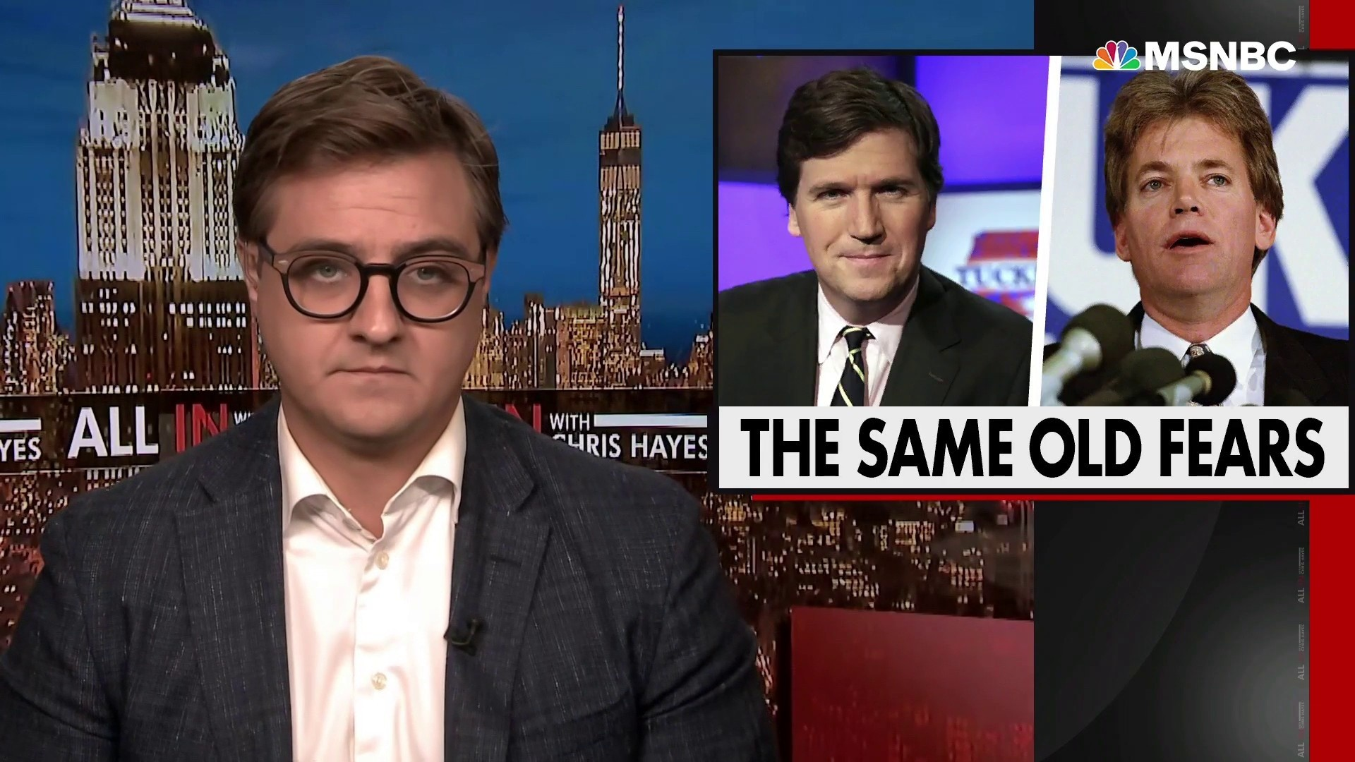 Chris Hayes takes apart the racist right-wing immigration theory