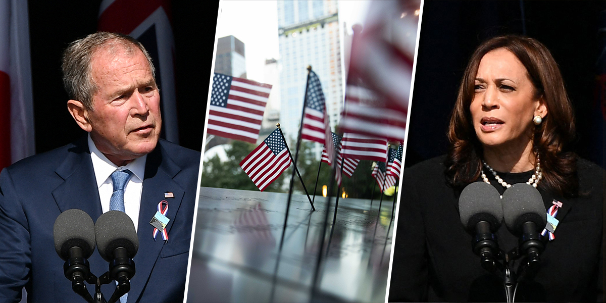 Watch: Emotional moments from 9/11 20th anniversary ceremonies