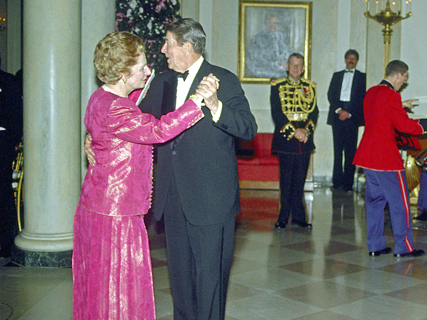 Recalling Margaret Thatcher True Friend With True Grit