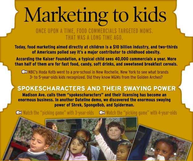 Marketing to kids