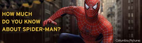 How much do you know about Spider-Man?