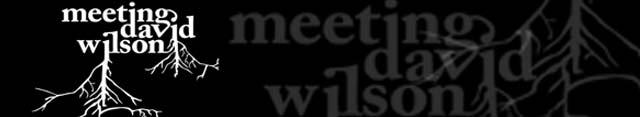 Meeting David Wilson