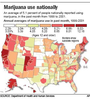 an analysis of the history of marijuana use in the america Unadjusted analyses show an association between cannabis use at a  with a  family history of psychosis or prodromal symptoms should be.