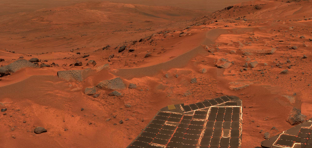 best view of mars from space probe - photo #34