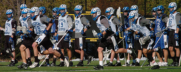 Of Duke's 47-member lacrosse team, 46 have been required to provide DNA samples