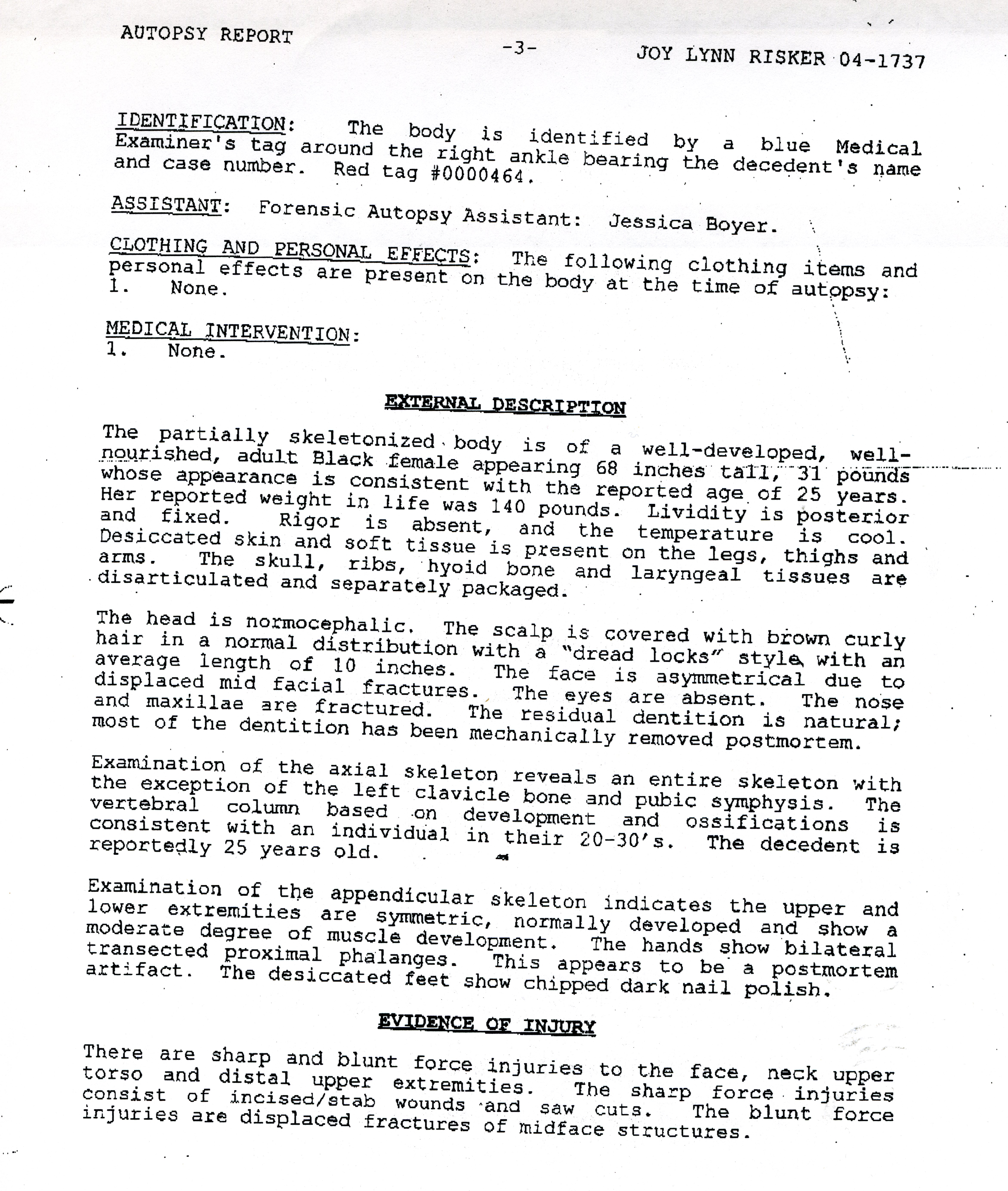 princess diana autopsy report pdf