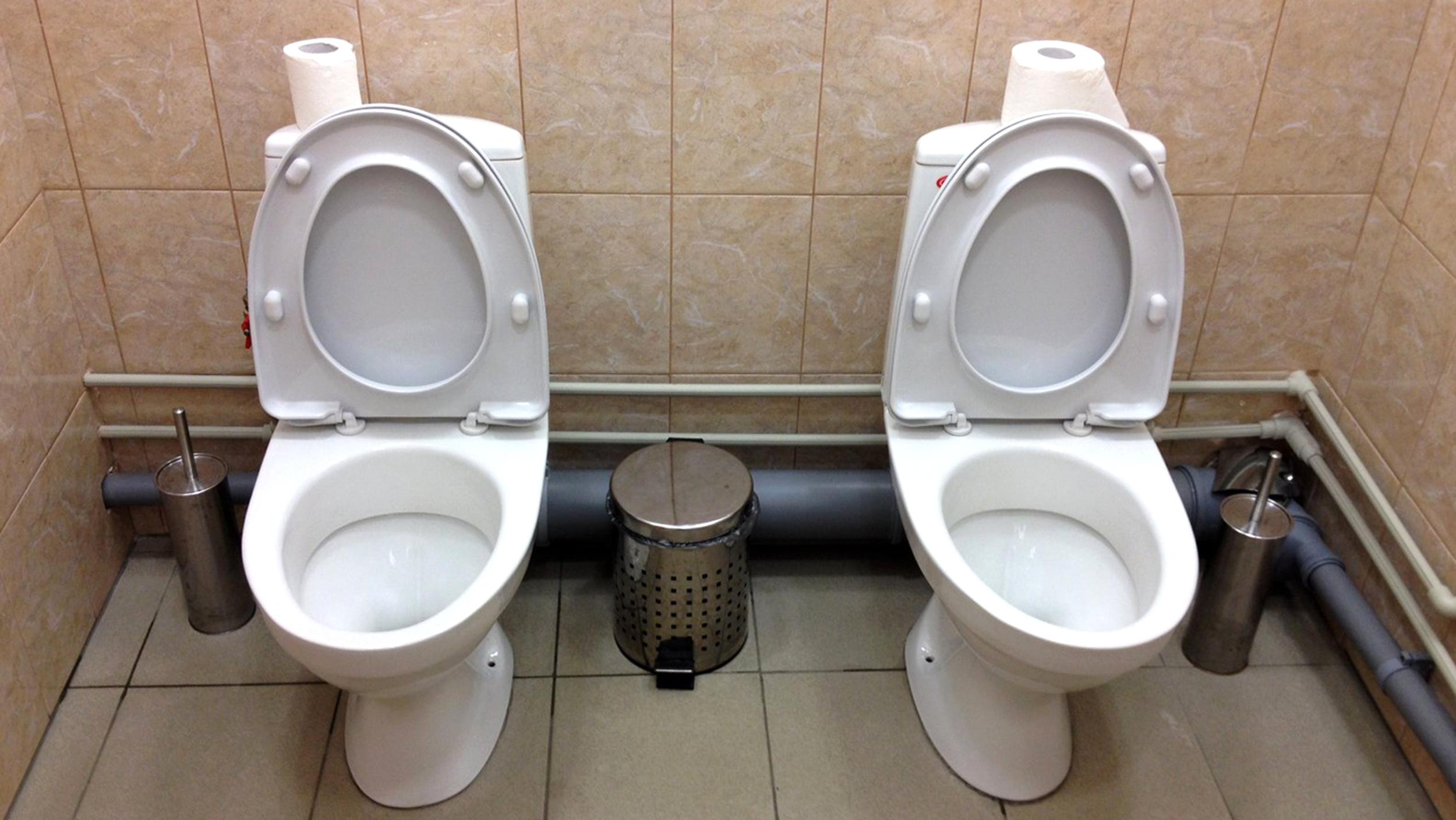 Унитаз для туалетного рабства 10 фотография