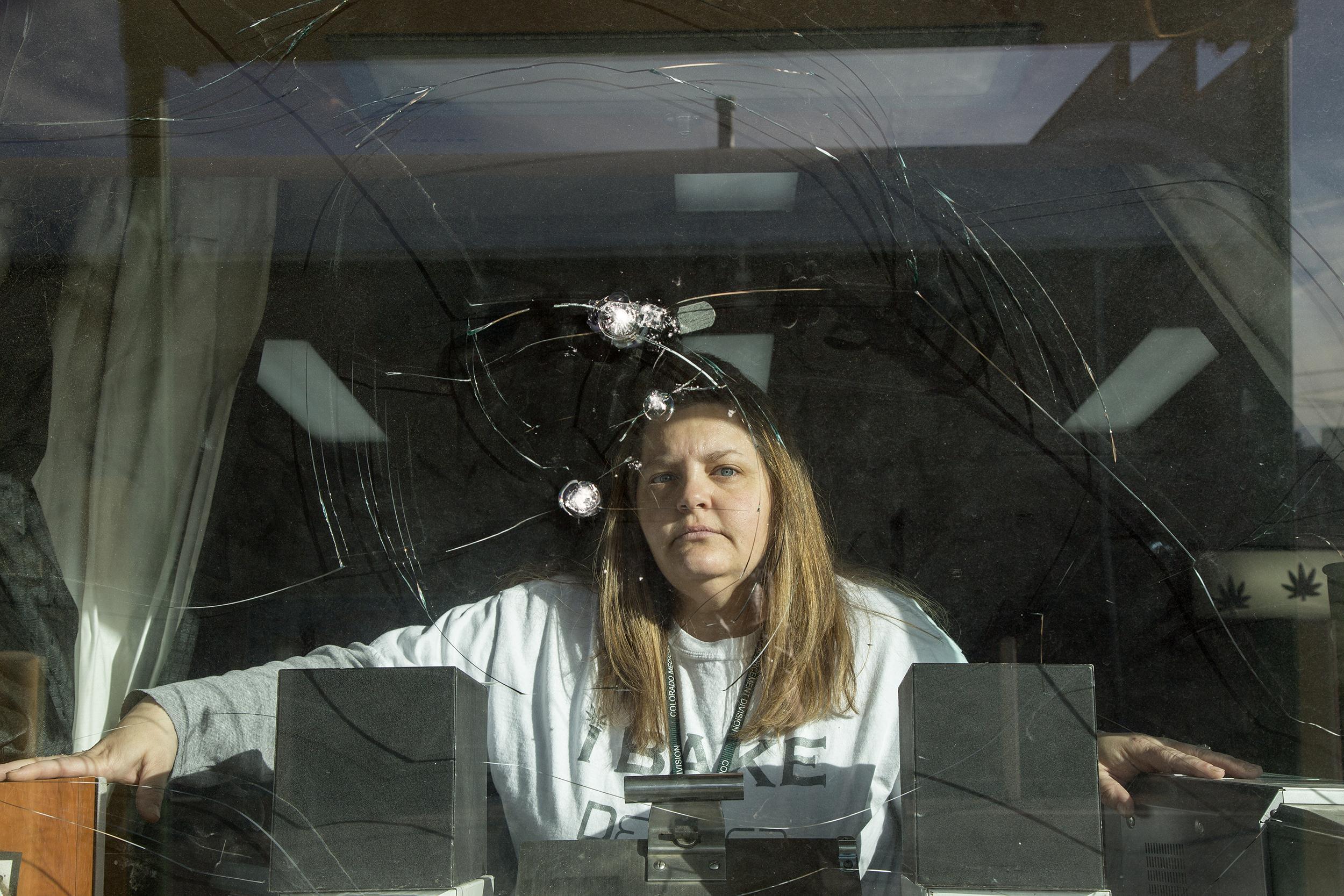 Image: Yevette Wiliams had her marijuana dispenary burlarized