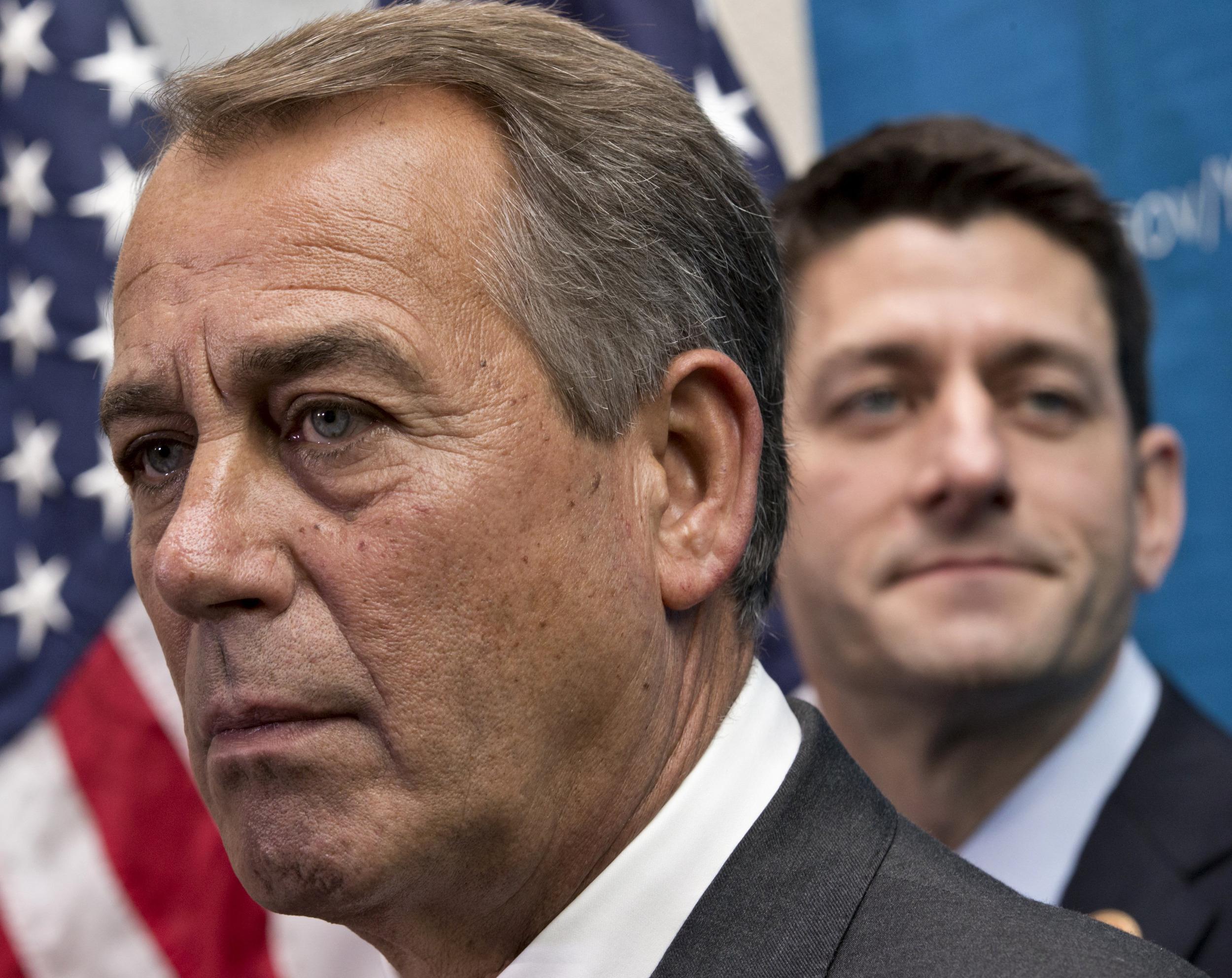 Image: John Boehner, Paul Ryan