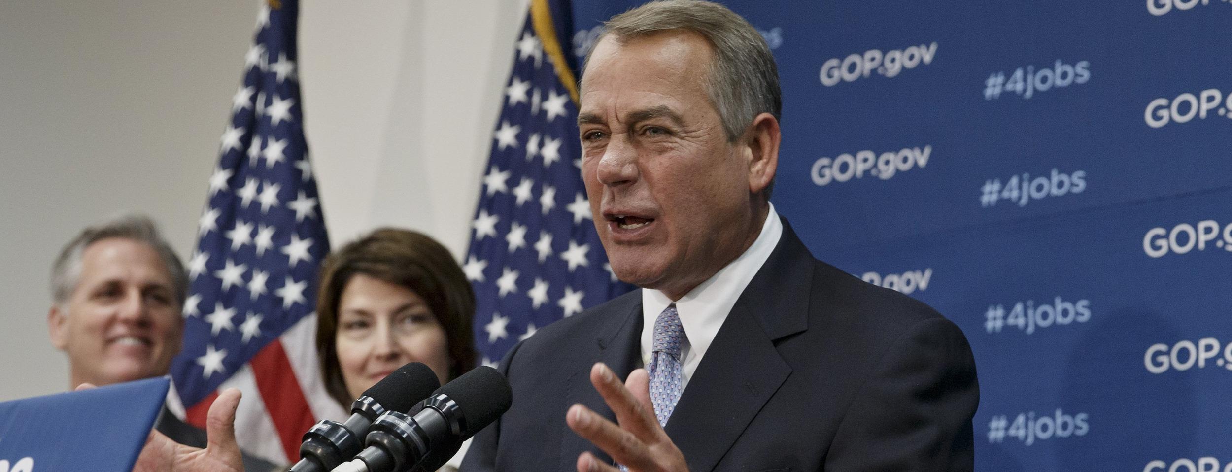 Image: John Boehner, Cathy McMorris Rodgers, Kevin McCarthy
