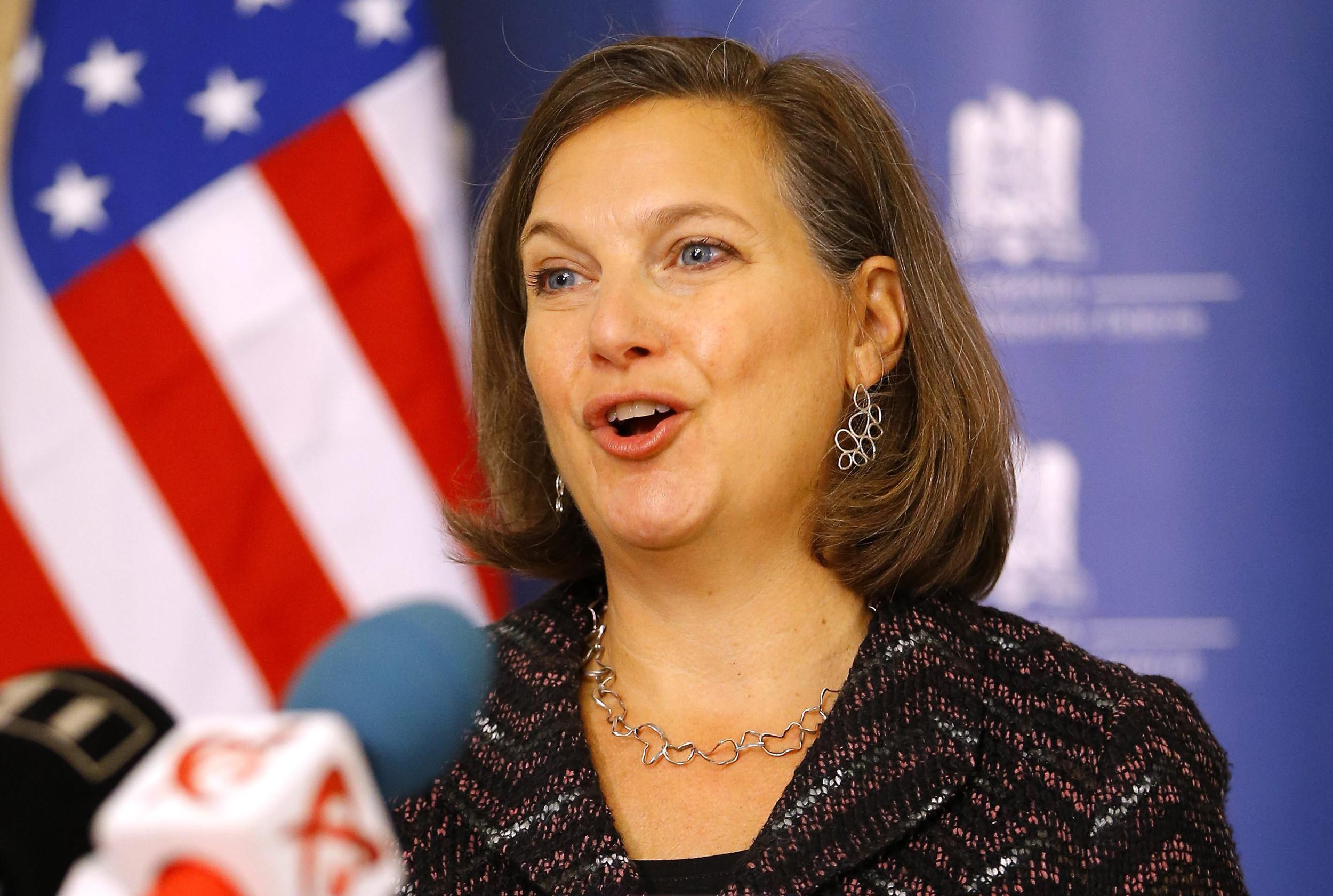 Image: US Assistant secretary of State for European and Eurasian Affairs Victoria Nuland