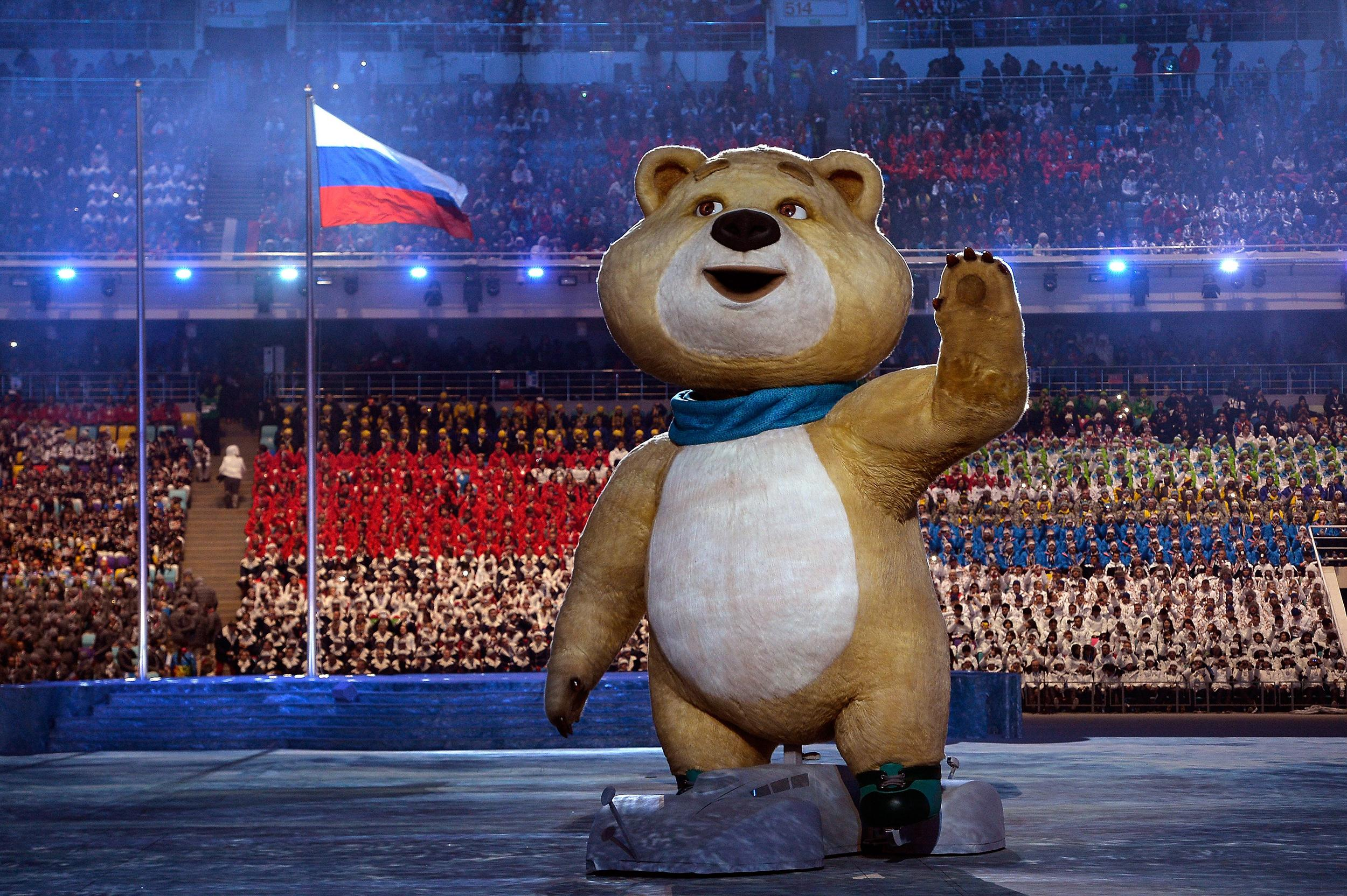 The Olympic Mascots are Back! from Best Moments from the ... |Winter Olympics 2014 Mascot Names