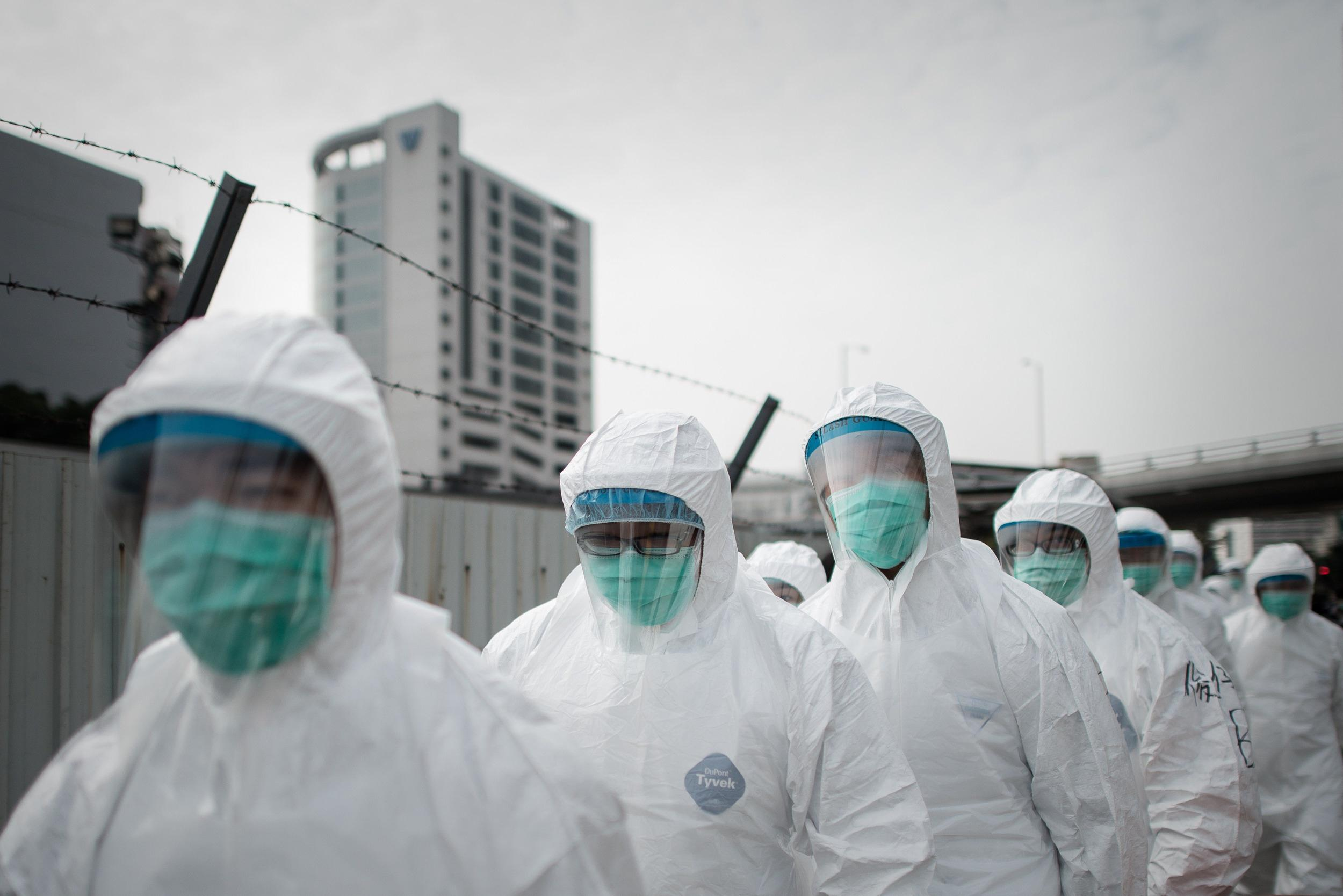 Image: HONG KONG-CHINA-HEALTH-FLU-VIRUS