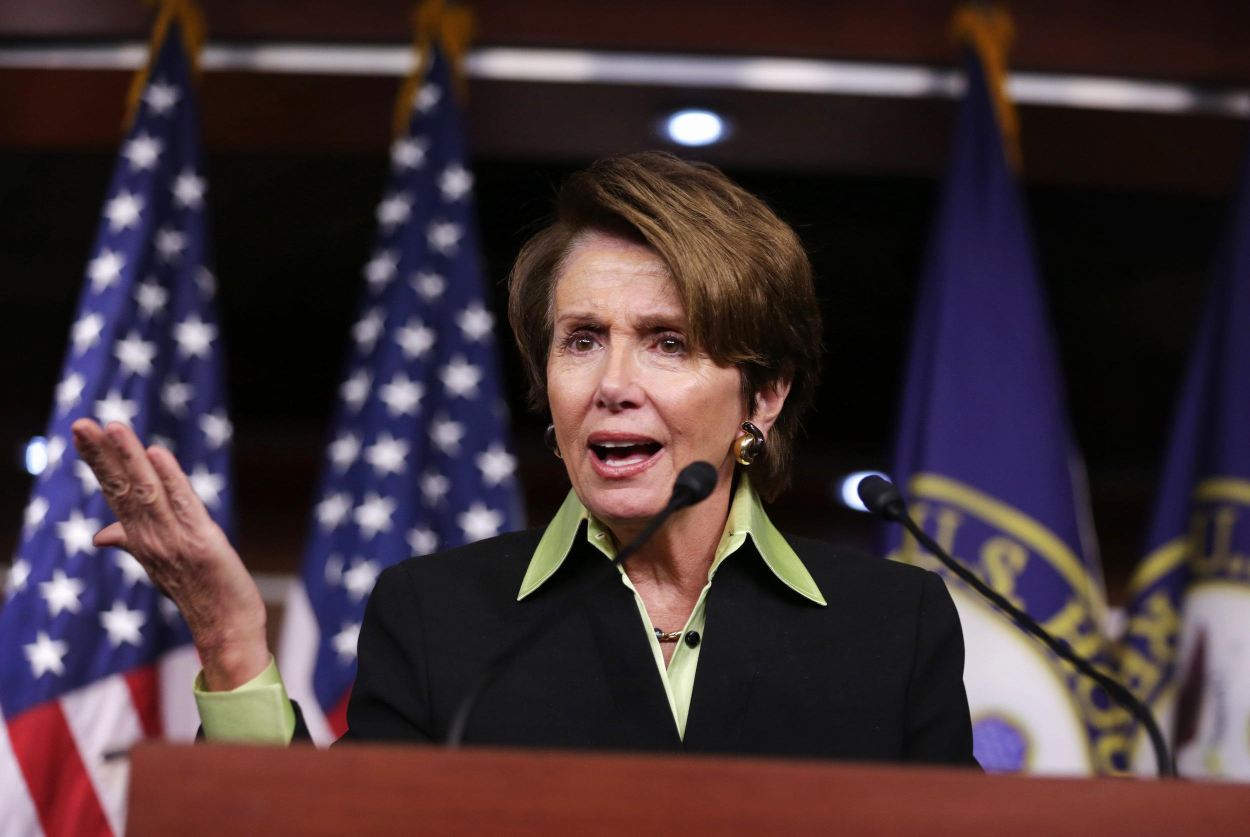 Image: Nancy Pelosi Holds Weekly Press Conference