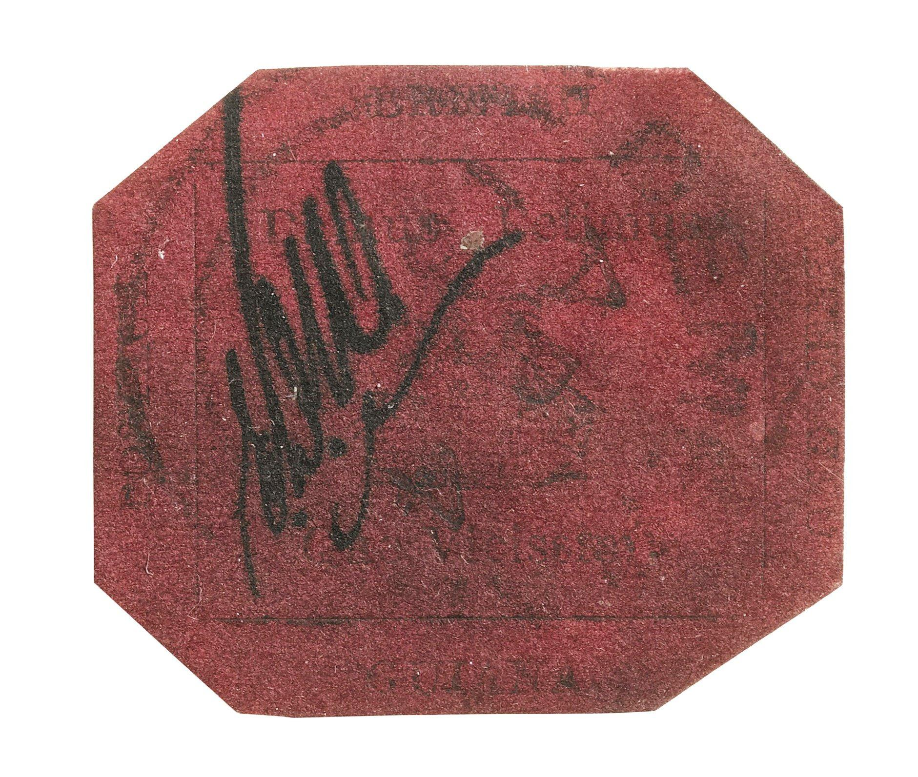 The one-cent 1856 British Guiana stamp could set another auction record.