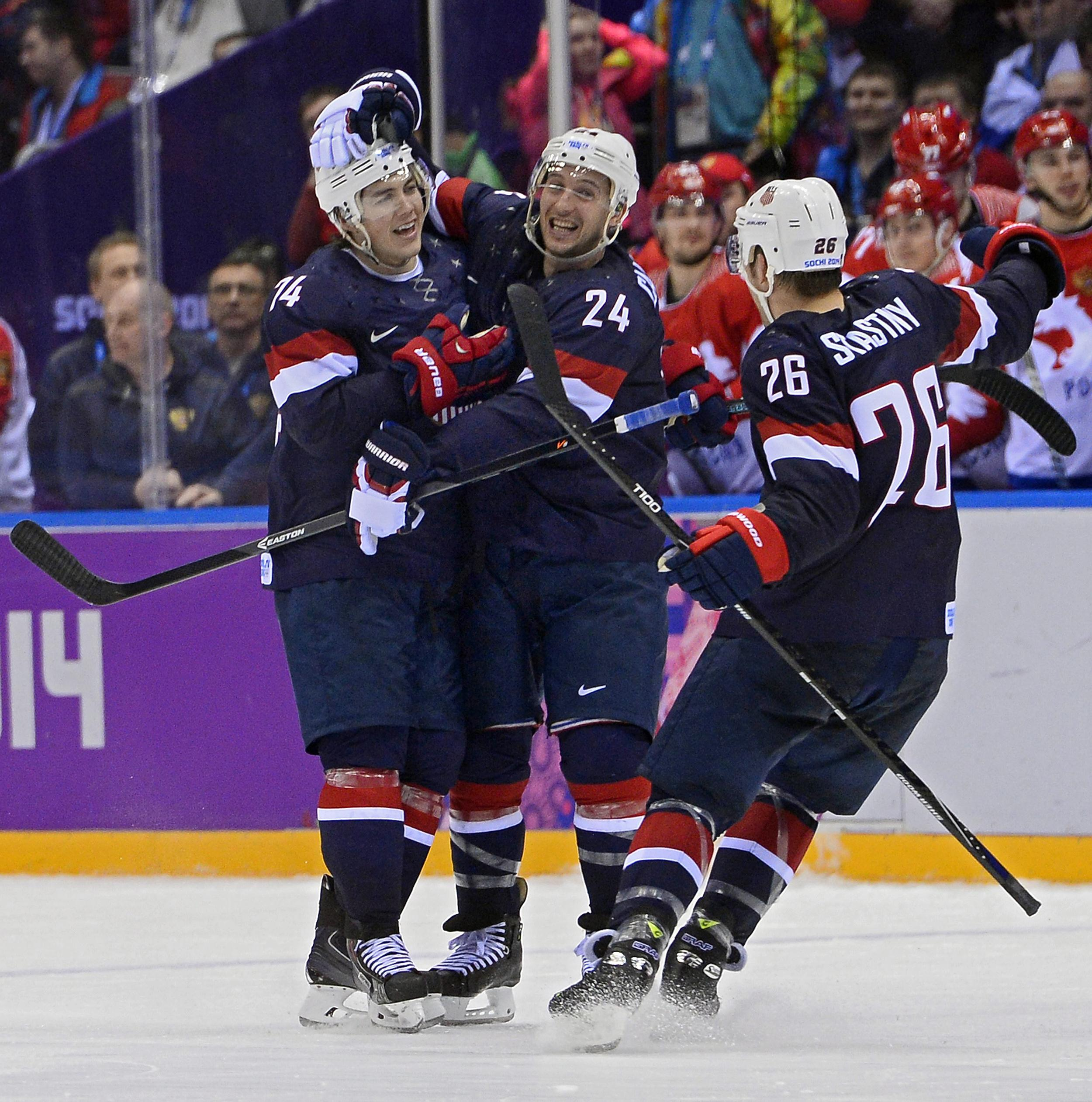 Photos preview the men s olympic hockey playoff bracket nbc news