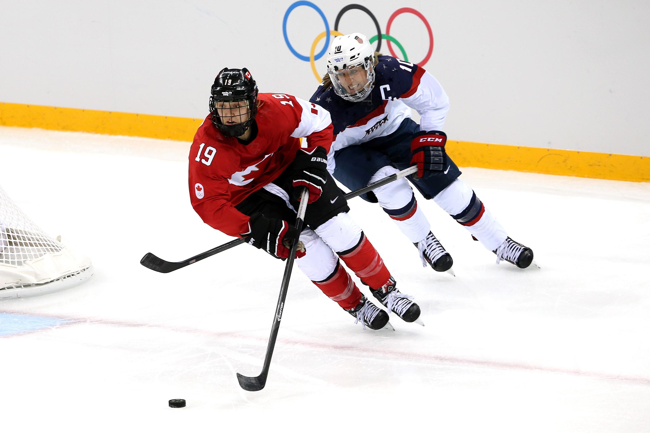 canada u s women to vie for hockey gold nbc news. Black Bedroom Furniture Sets. Home Design Ideas
