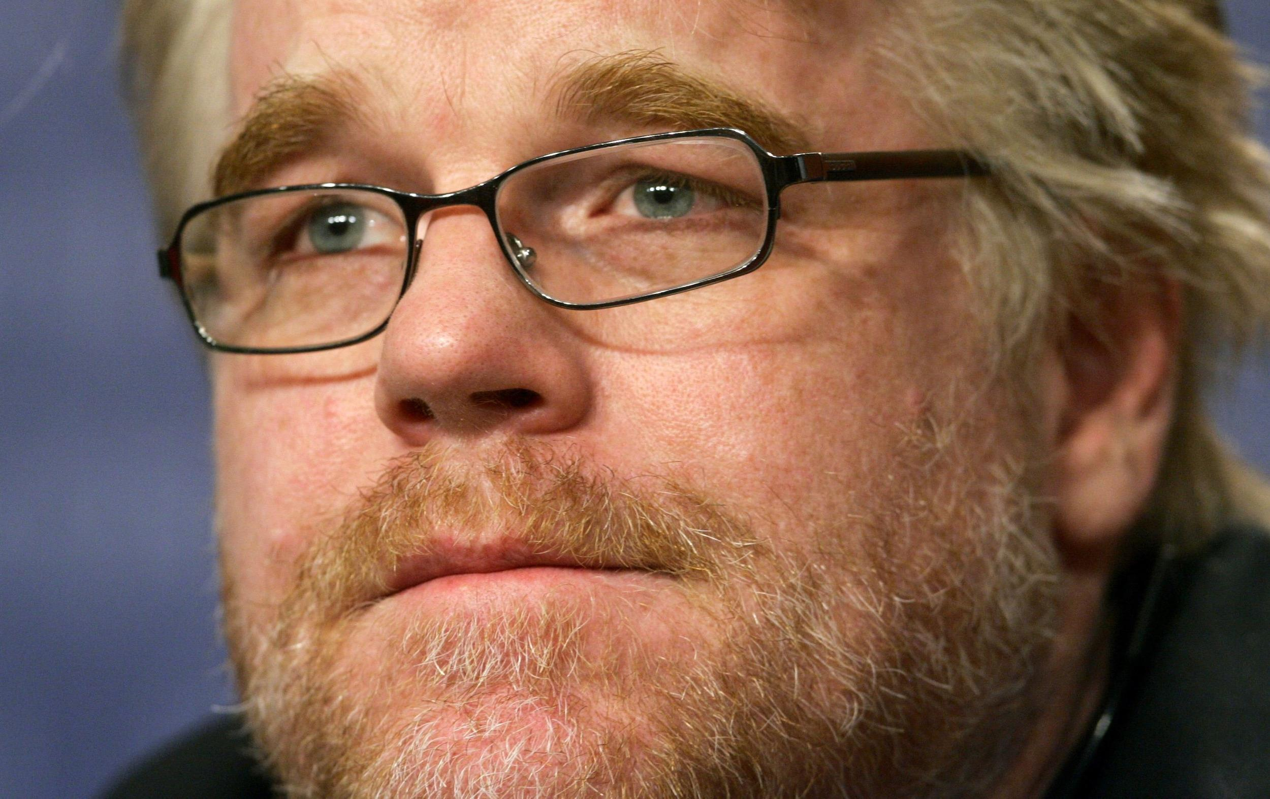 Image: File photo of Hoffman attending a news conference at the 56th Berlinale International Film Festival in Berlin