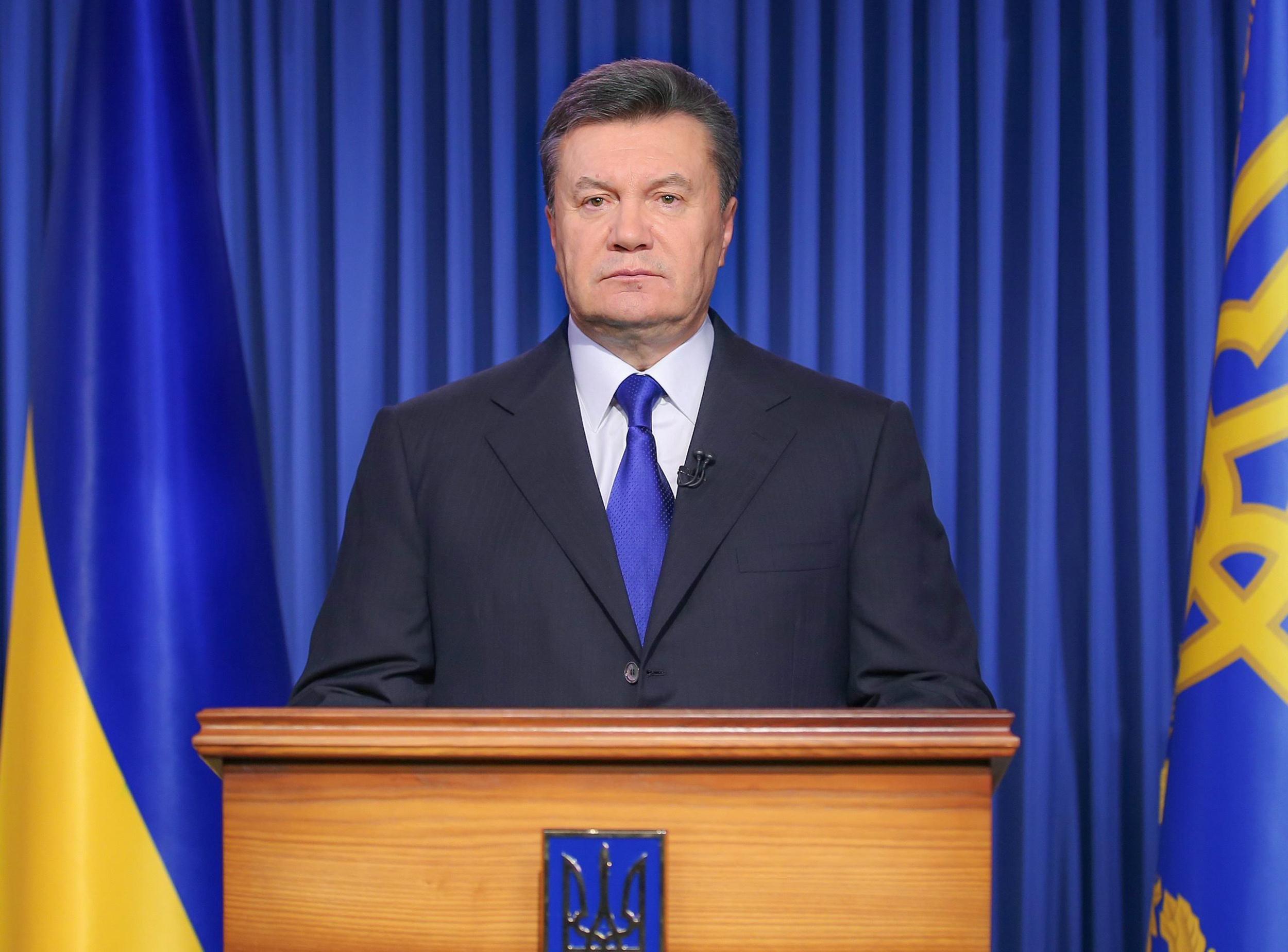 Image: Ukrainian President Viktor Yanukovych