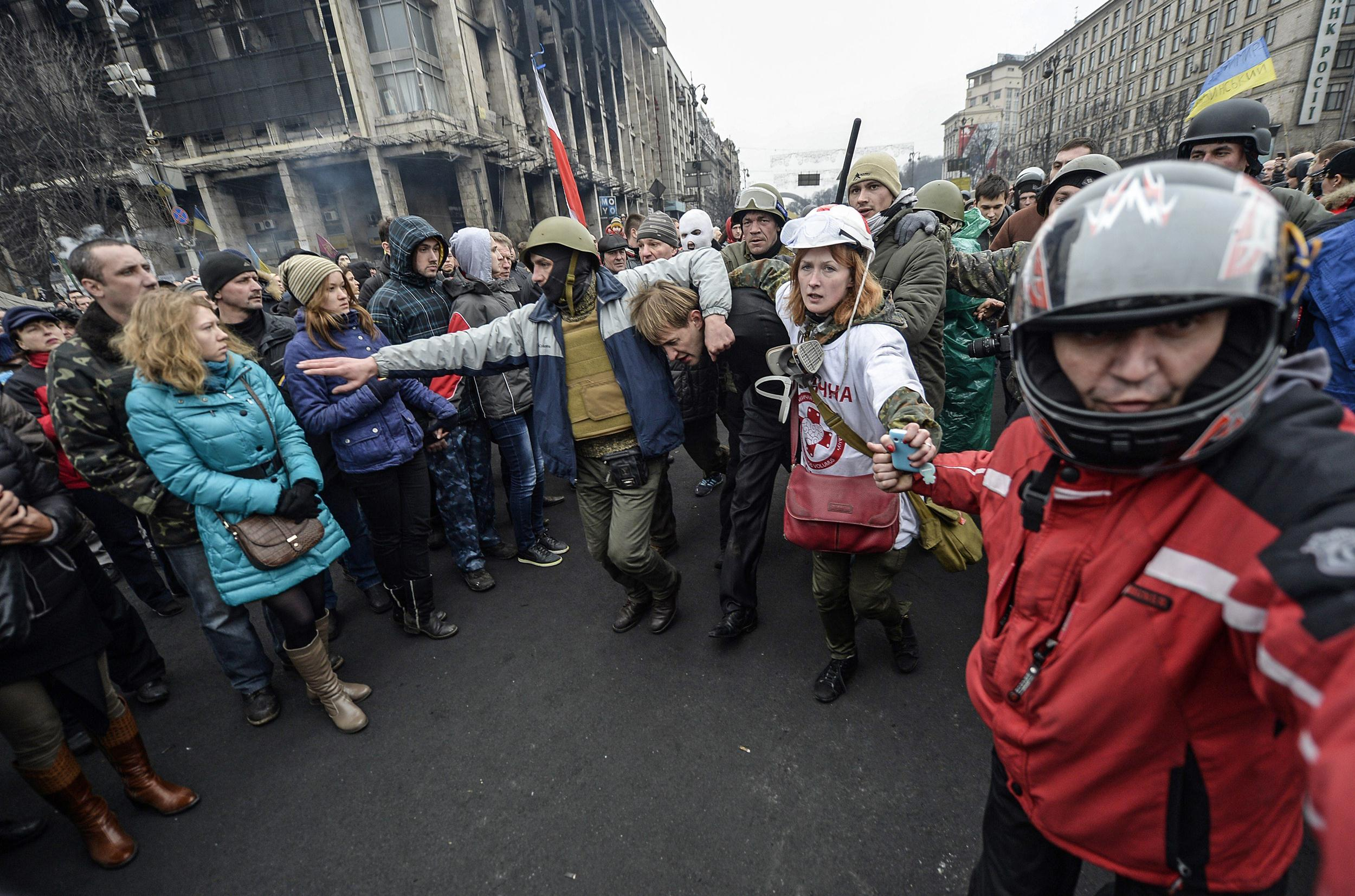 Image: UKRAINE-UNREST-EU-RUSSIA-POLITICS