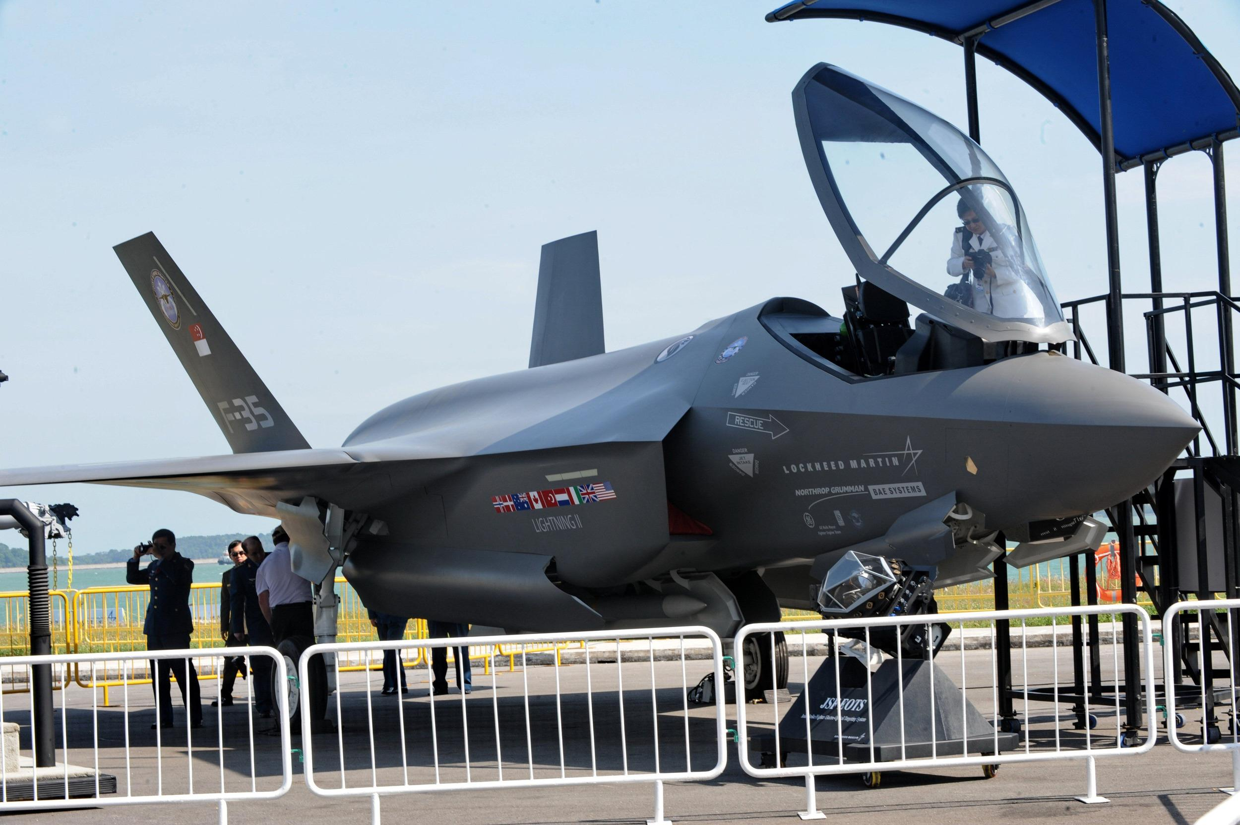 The Lockheed Martin F-35 jet program is a winner under the proposed Pentagon budget.