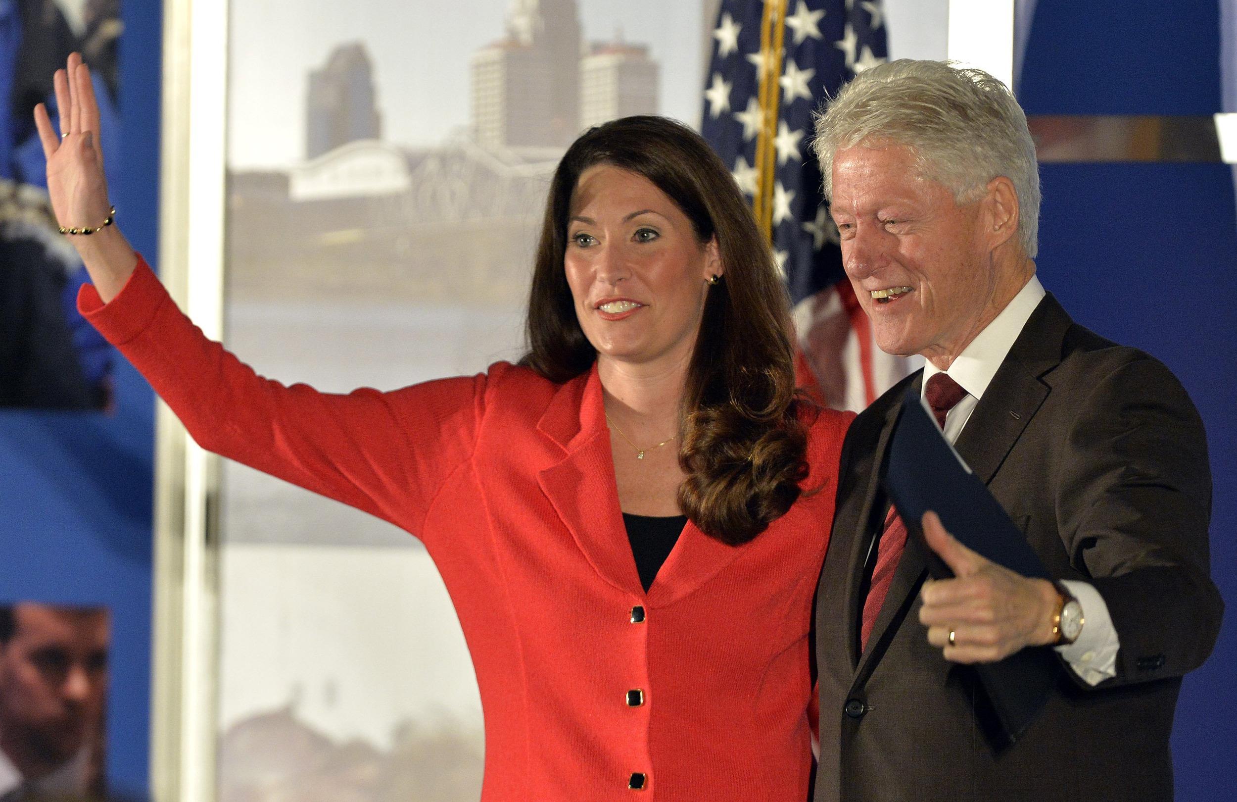 Image: Bill Clinton, Alison Lundergan Grimes