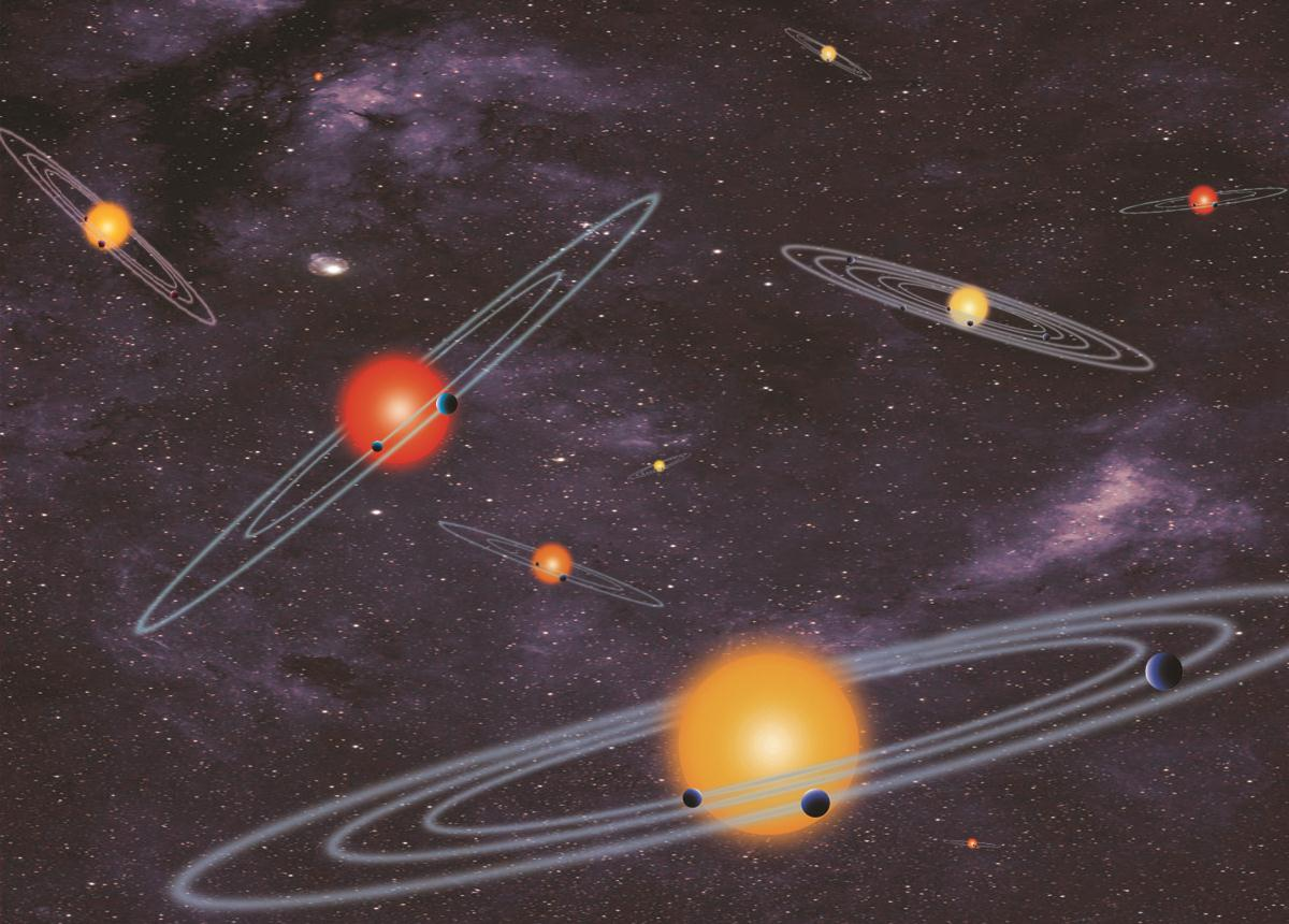 Image: Planetary systems