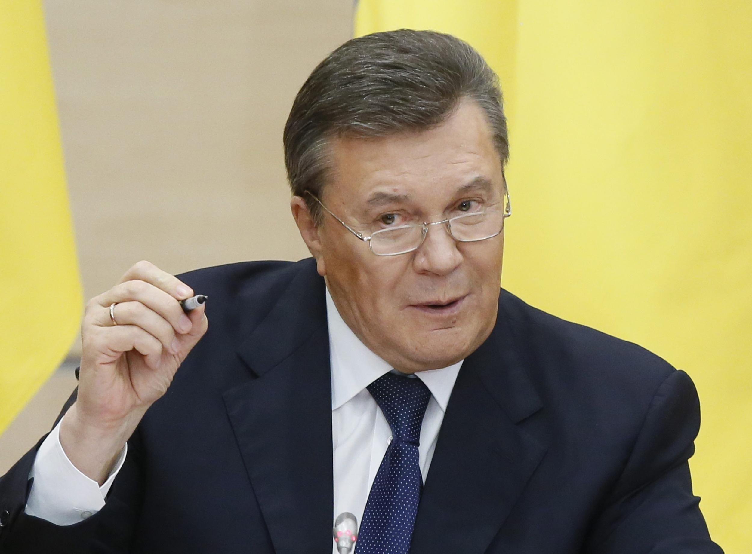 Image: Former Ukrainian President Viktor Yanukovych