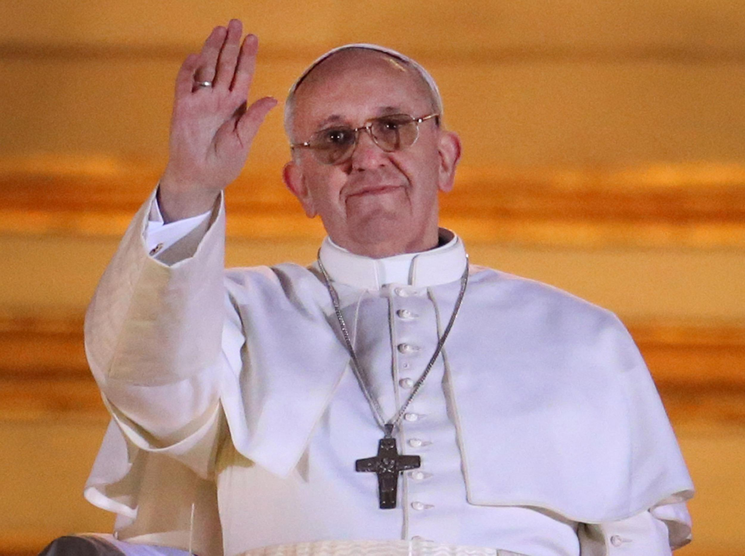 Image: (FILE) Pope Francis Named 2013 Time Magazine Person of the Year The Conclave Of Cardinals Have Elected A New Pope To Lead The World's Catholics