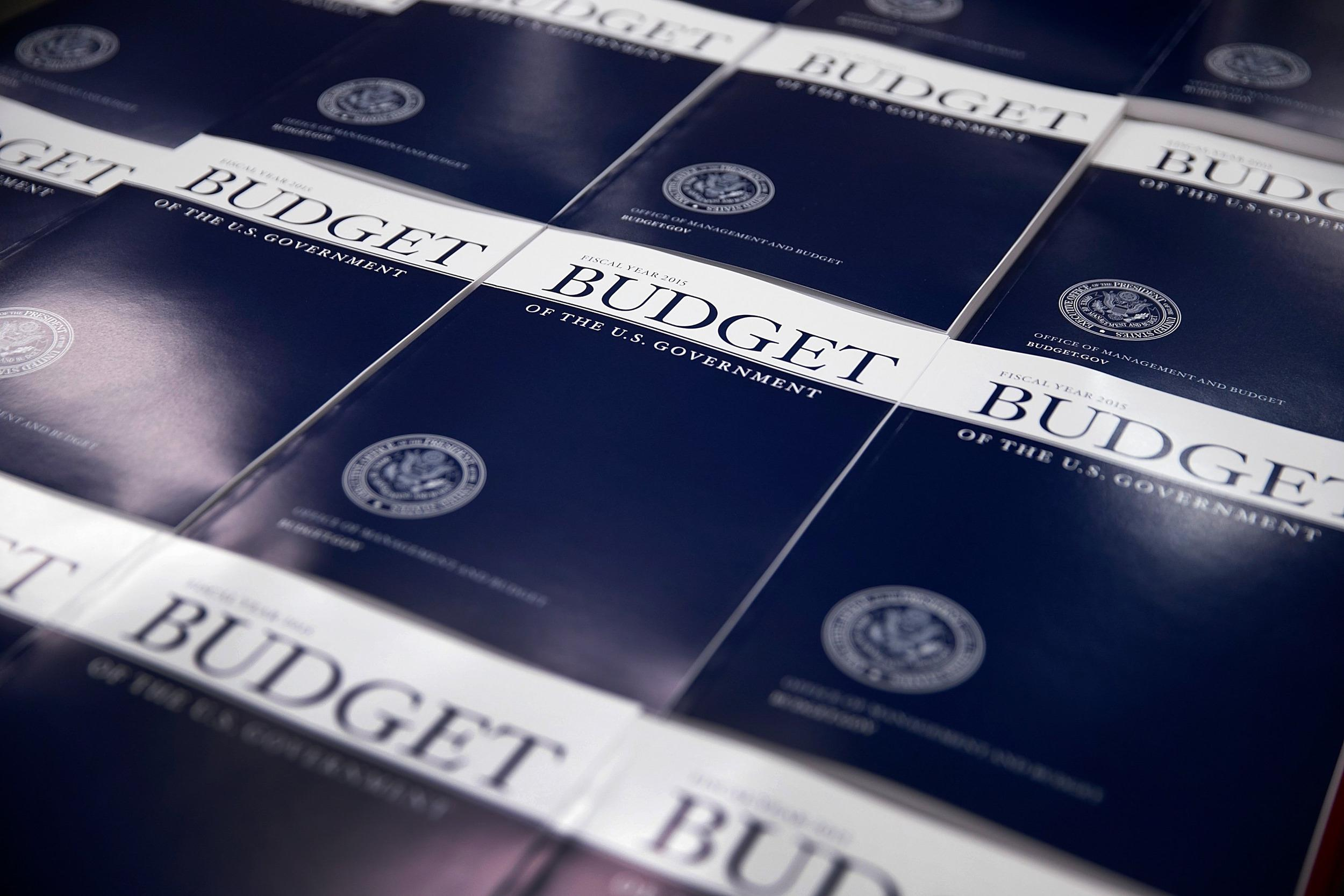 Image: Obama's FY2015 Budget Is Released By The OMB And Government Printing Office
