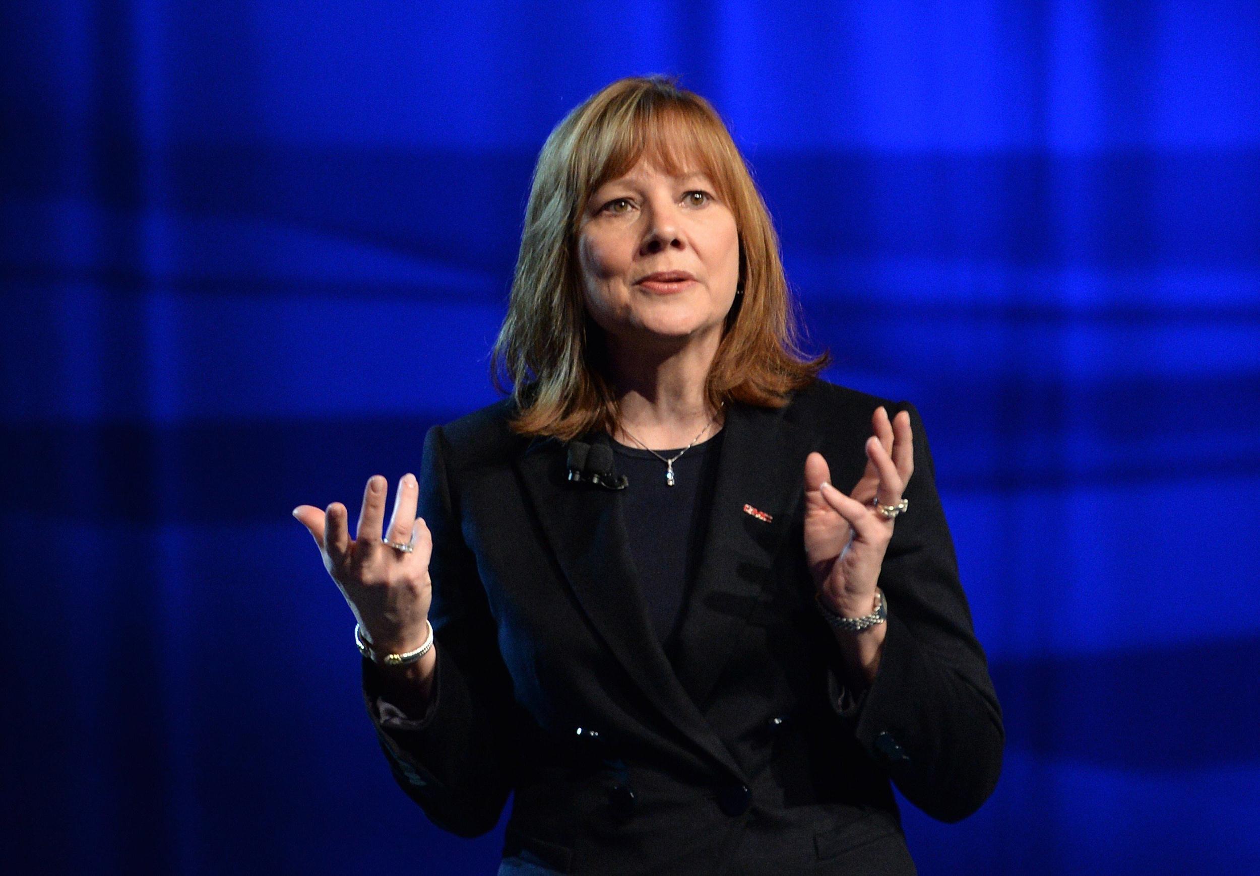 Image: General Motors CEO Mary Barra