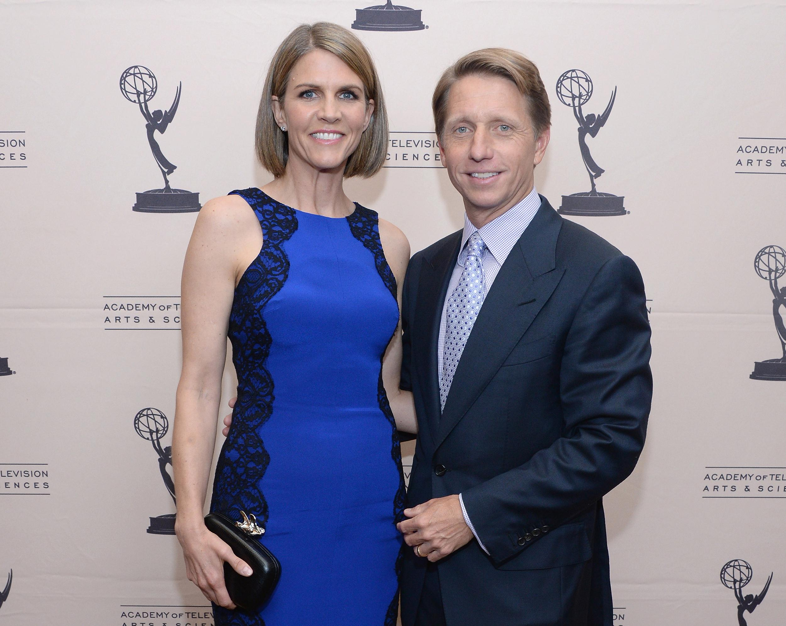 Image: Colleen Bell and and her husband Bradley Bell