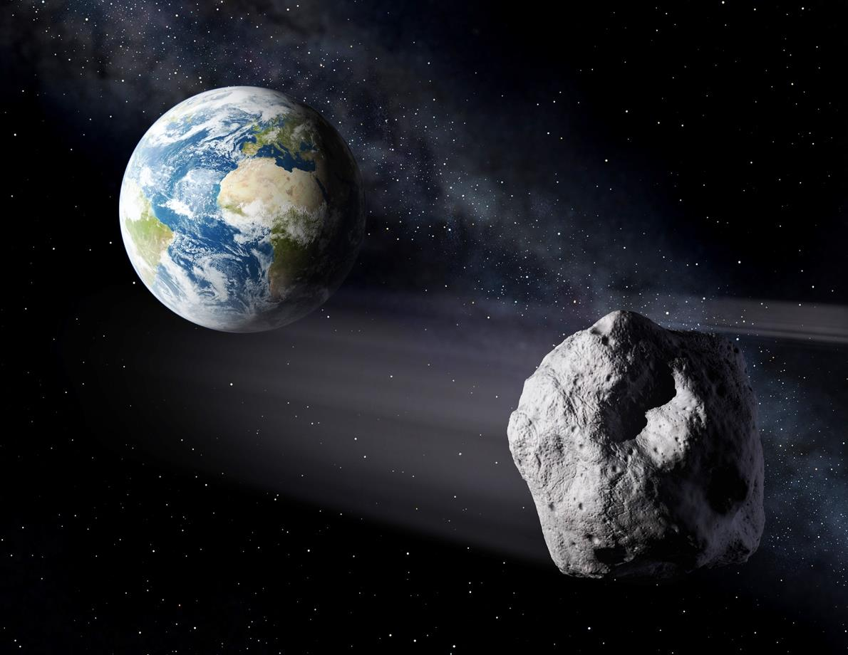 asteroid in space - photo #2