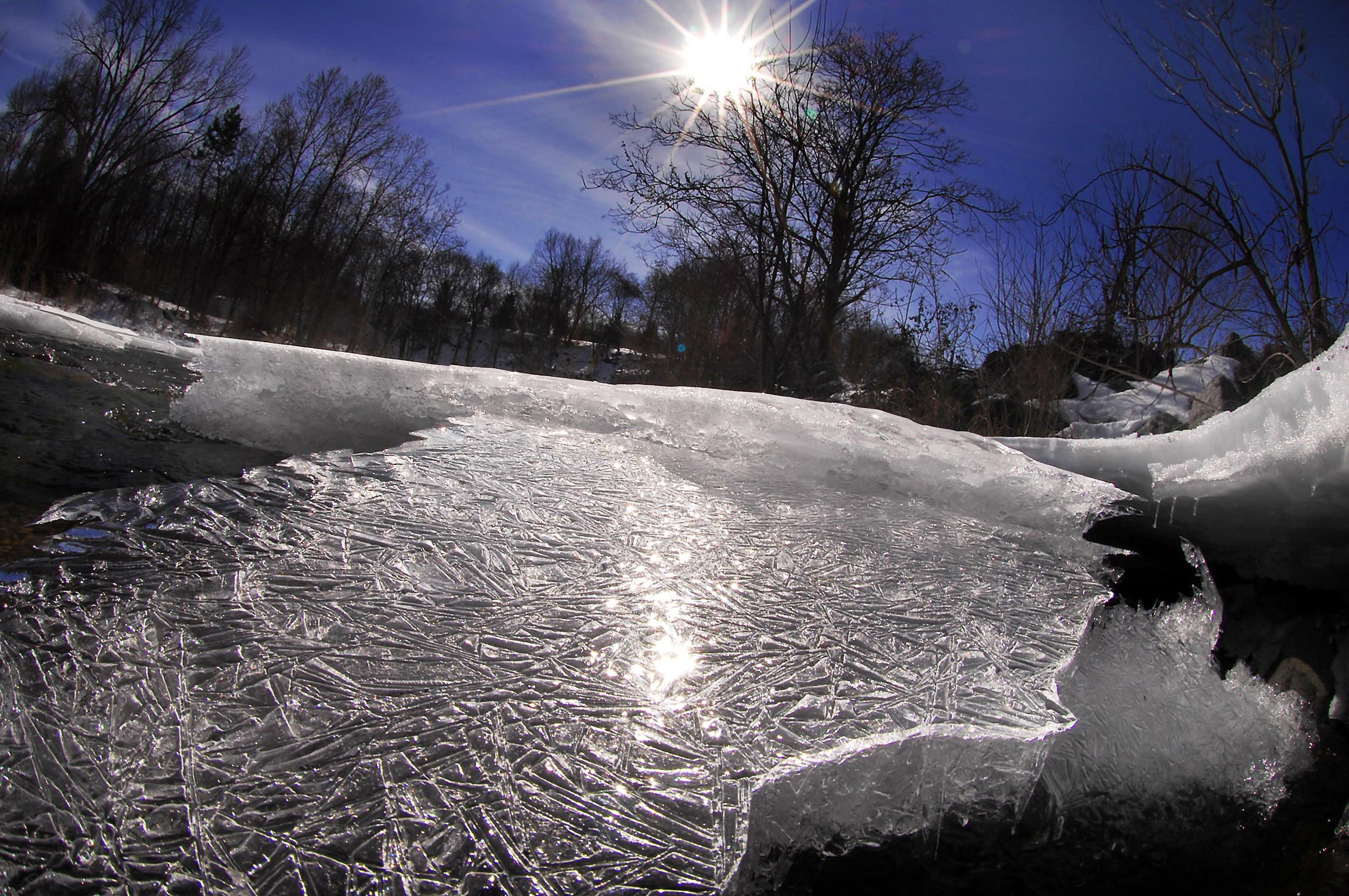 Image: Ice and snow
