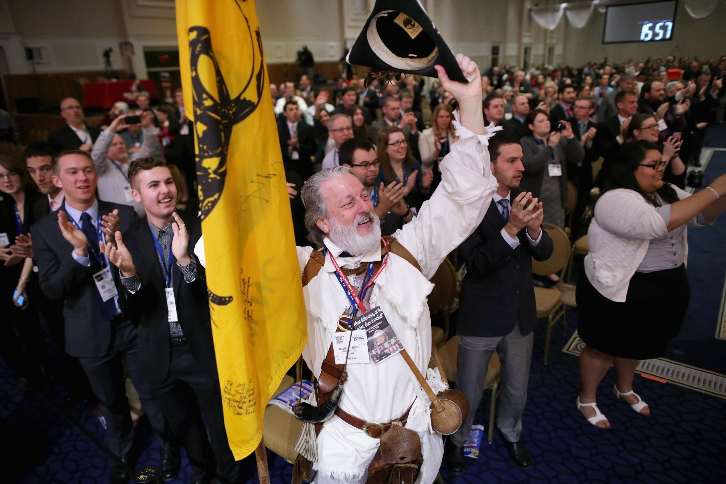 Image: Annual Conservative Political Action Conference (CPAC) Held In D.C.