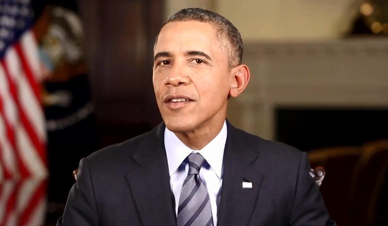 Image: Obama on