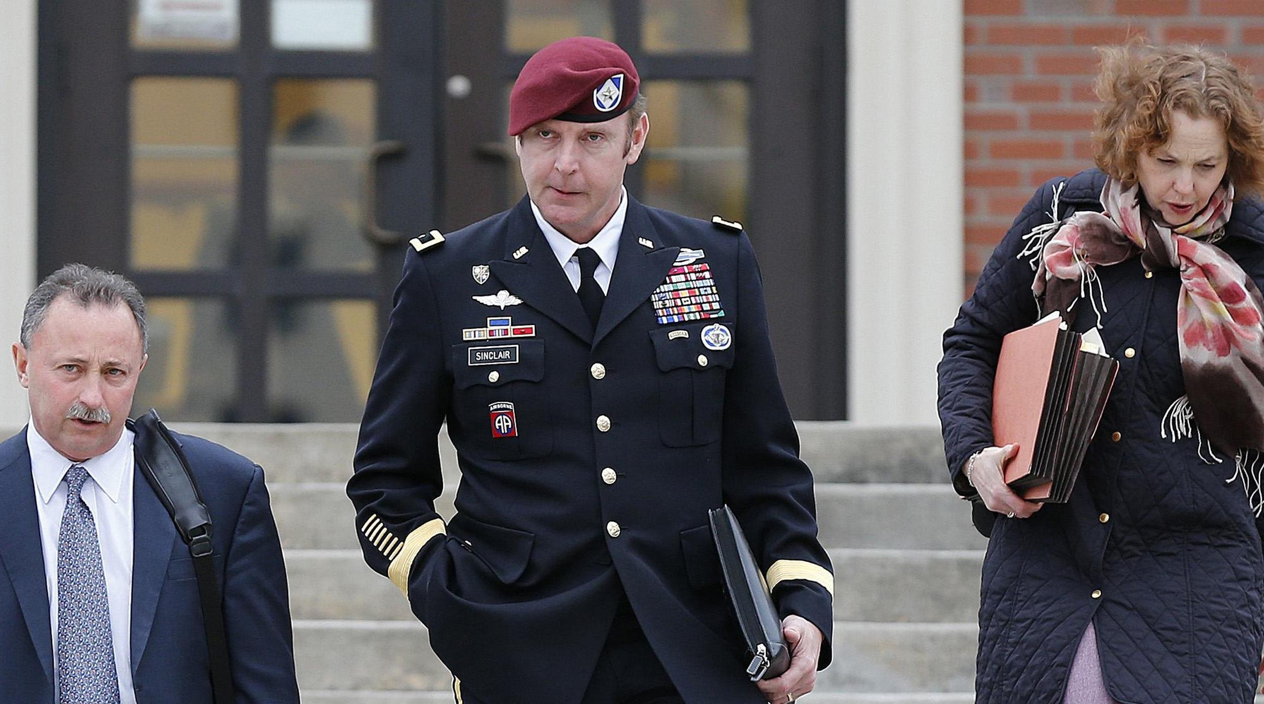 Image: Army Brigadier General Jeffrey Sinclair
