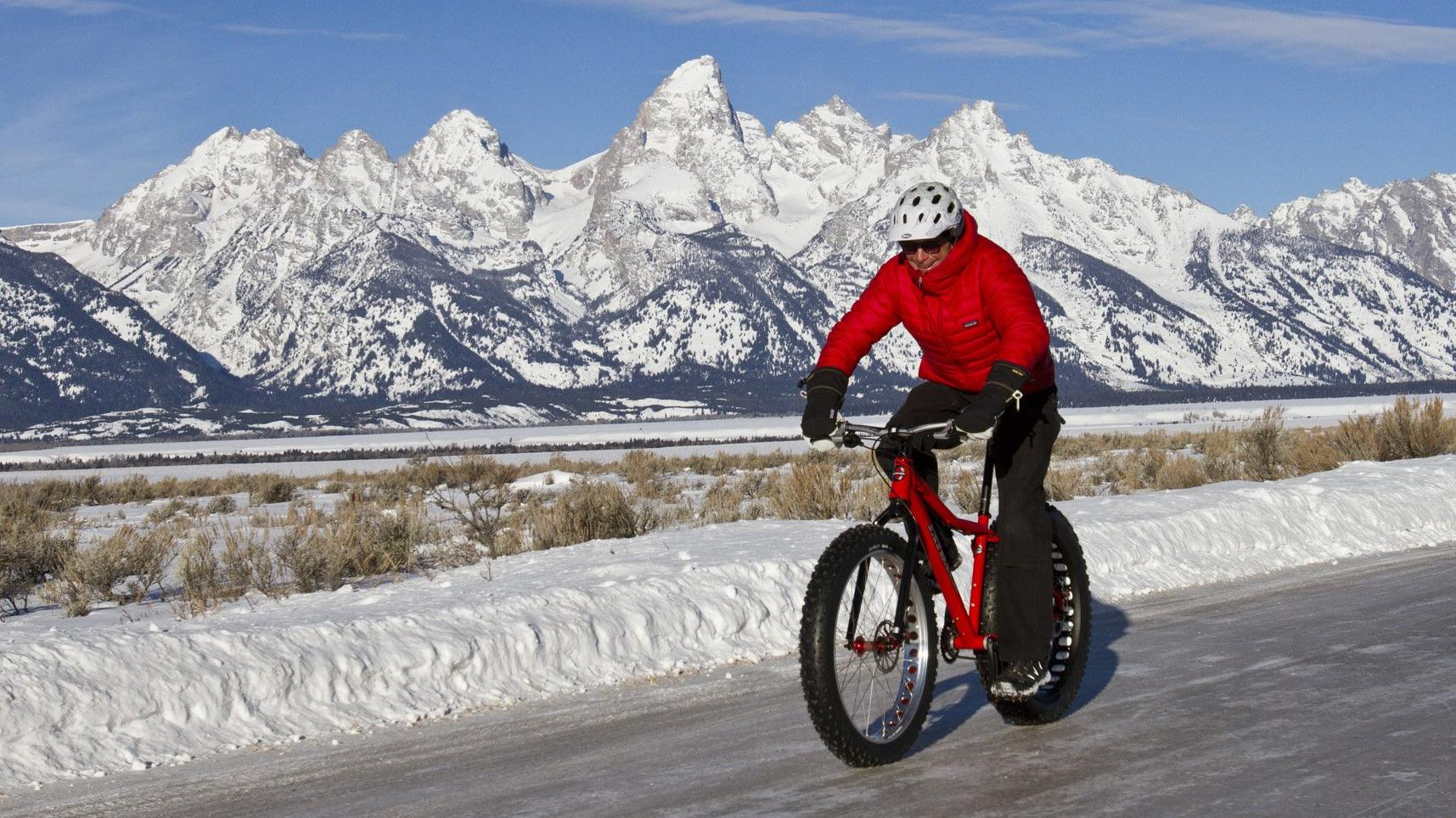 42238fa6bec73 Over-Sized Fun  Riders Float Over the Snow on Fat Bikes
