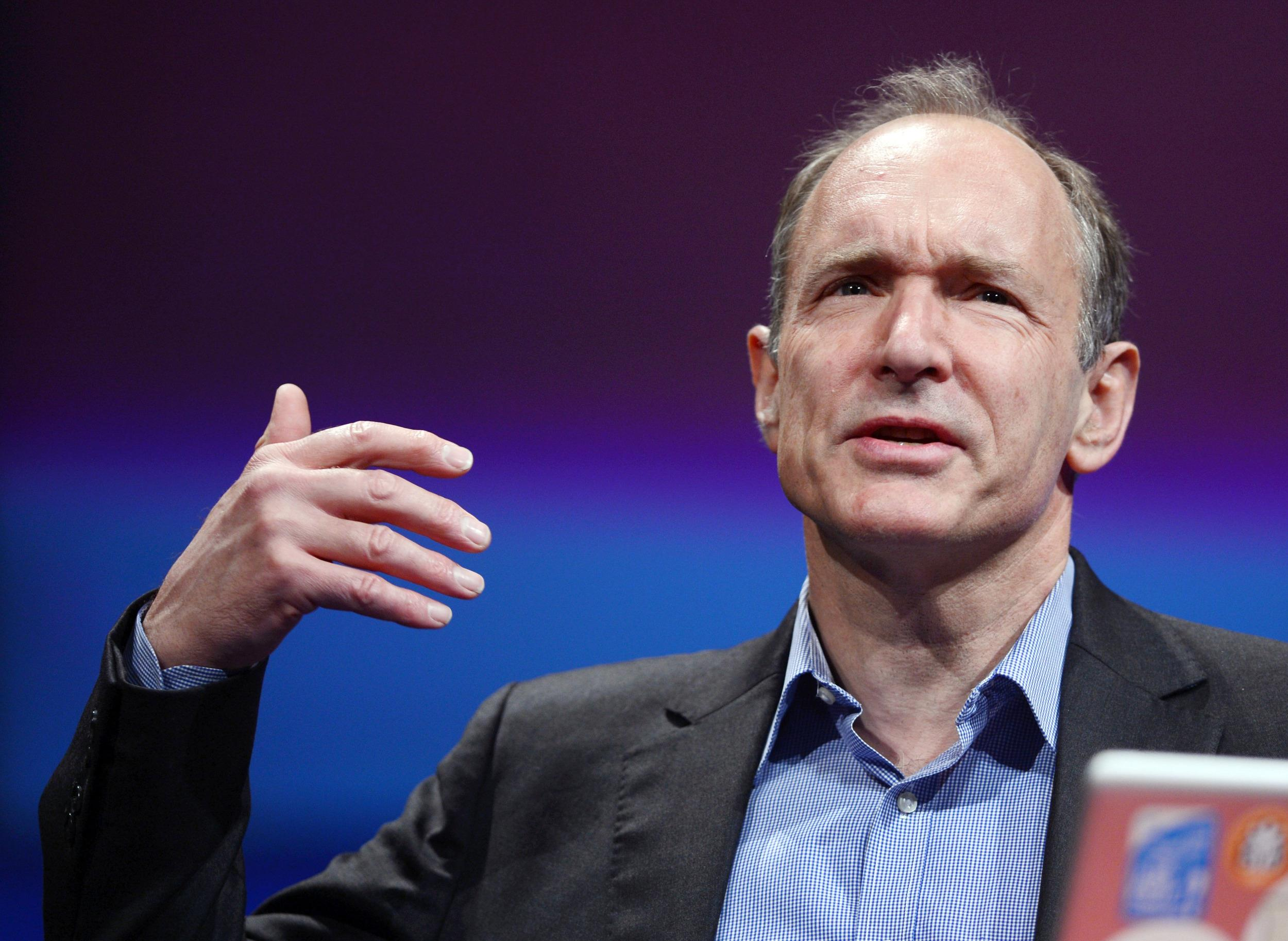 British computer scientist Tim Berners