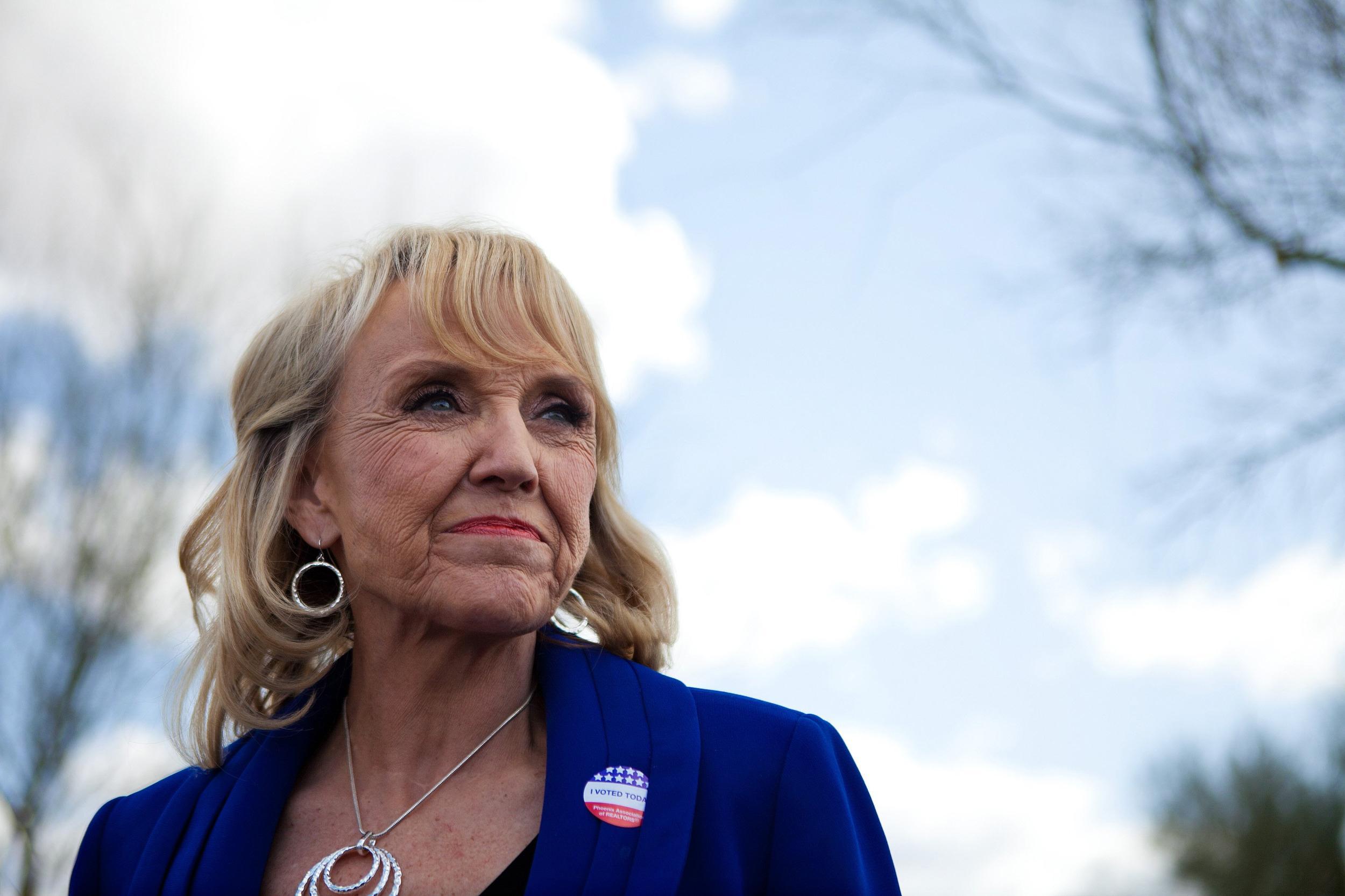 Image: FILE: AZ Gov. Jan Brewer Not To Seek Re-Election