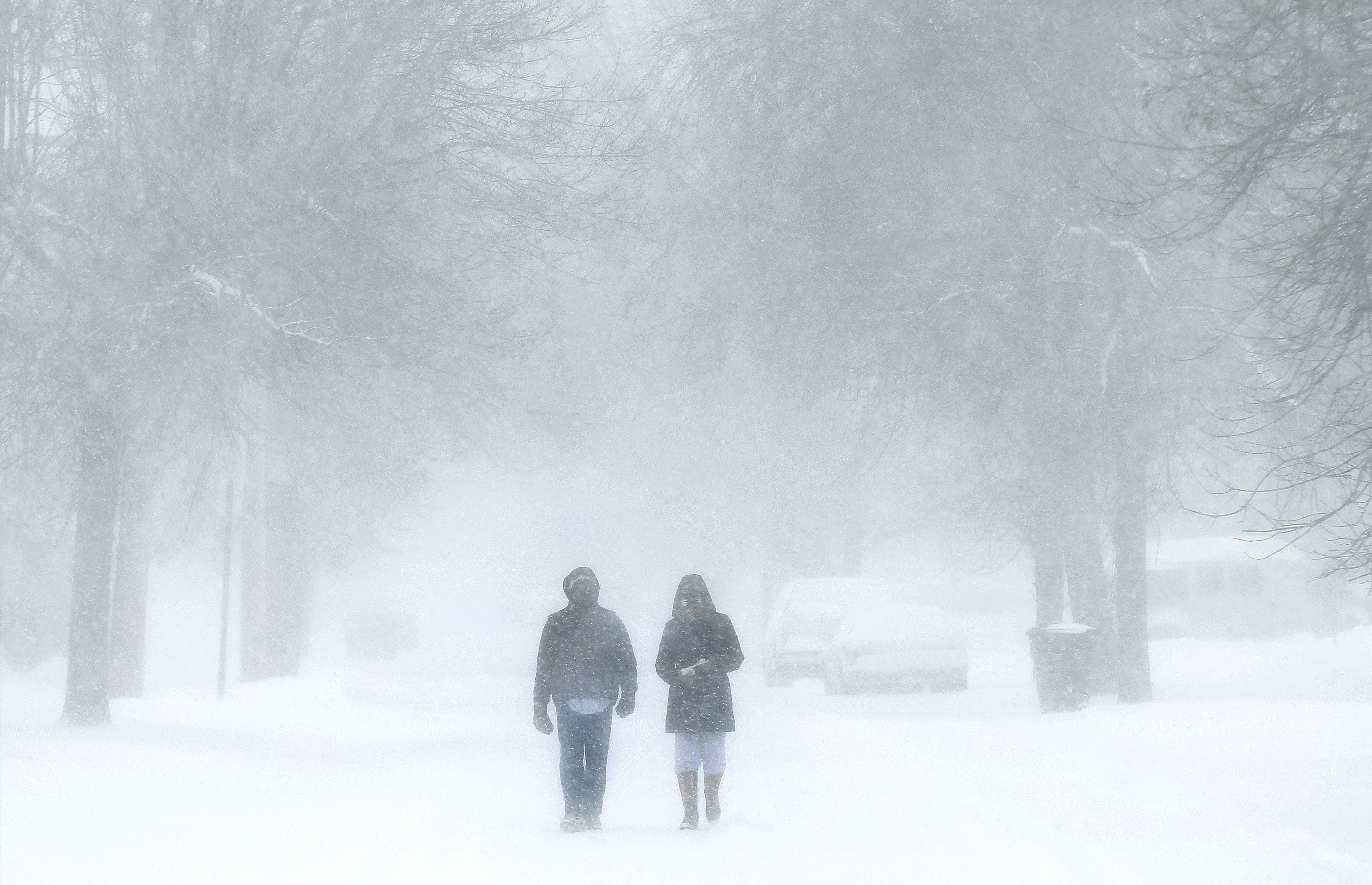 Michigan Snow Storm