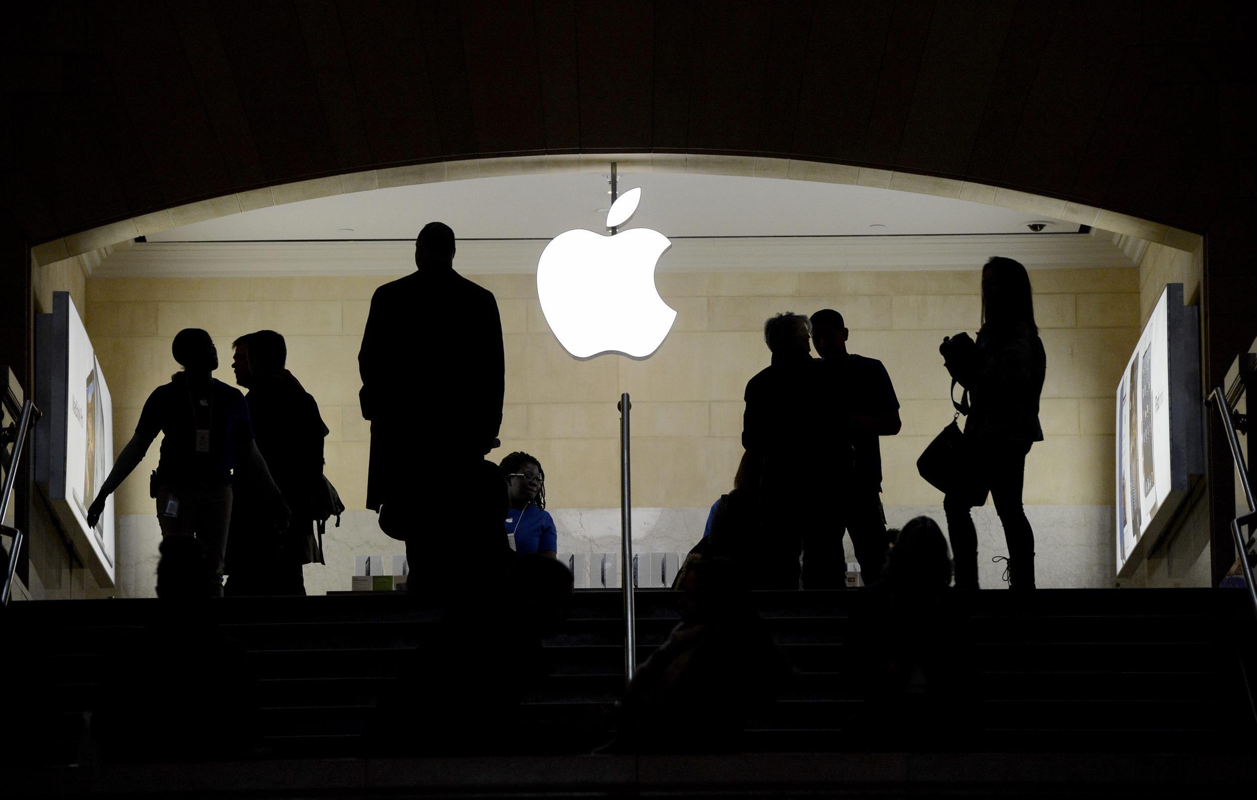 Image: Apple store.