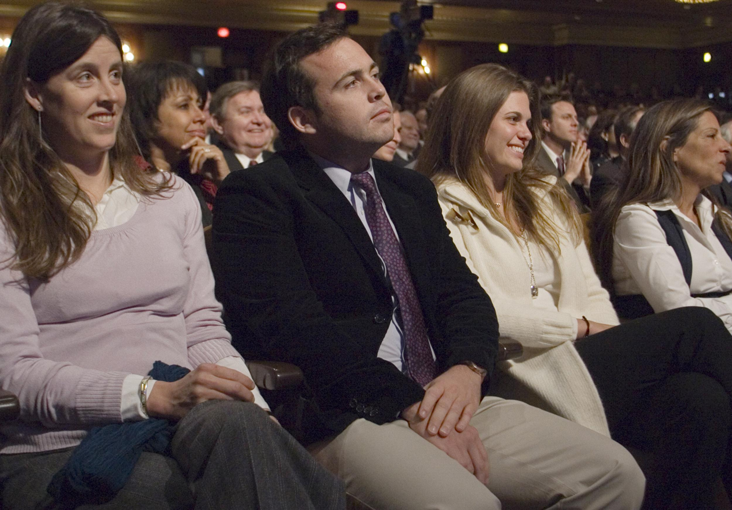 Jennifer Corzine-Pisani, Jeffrey Corzine, Jill Selby, Sharon Elghanayan