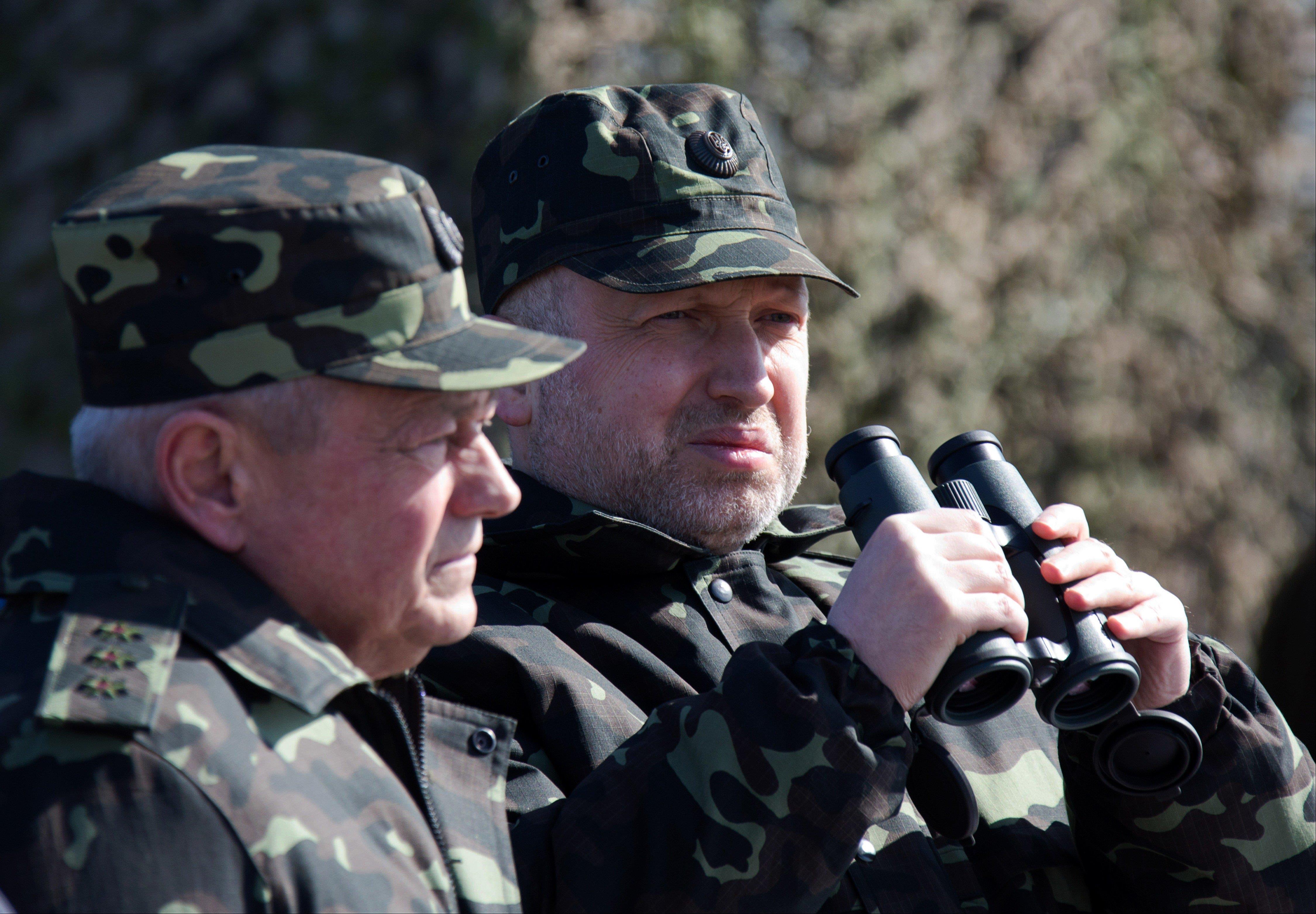 Image: Oleksandr Turchynov, Igor Tenyukh