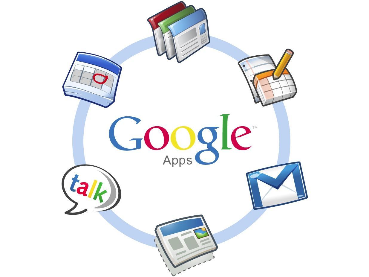 Google Apps Logo Ring