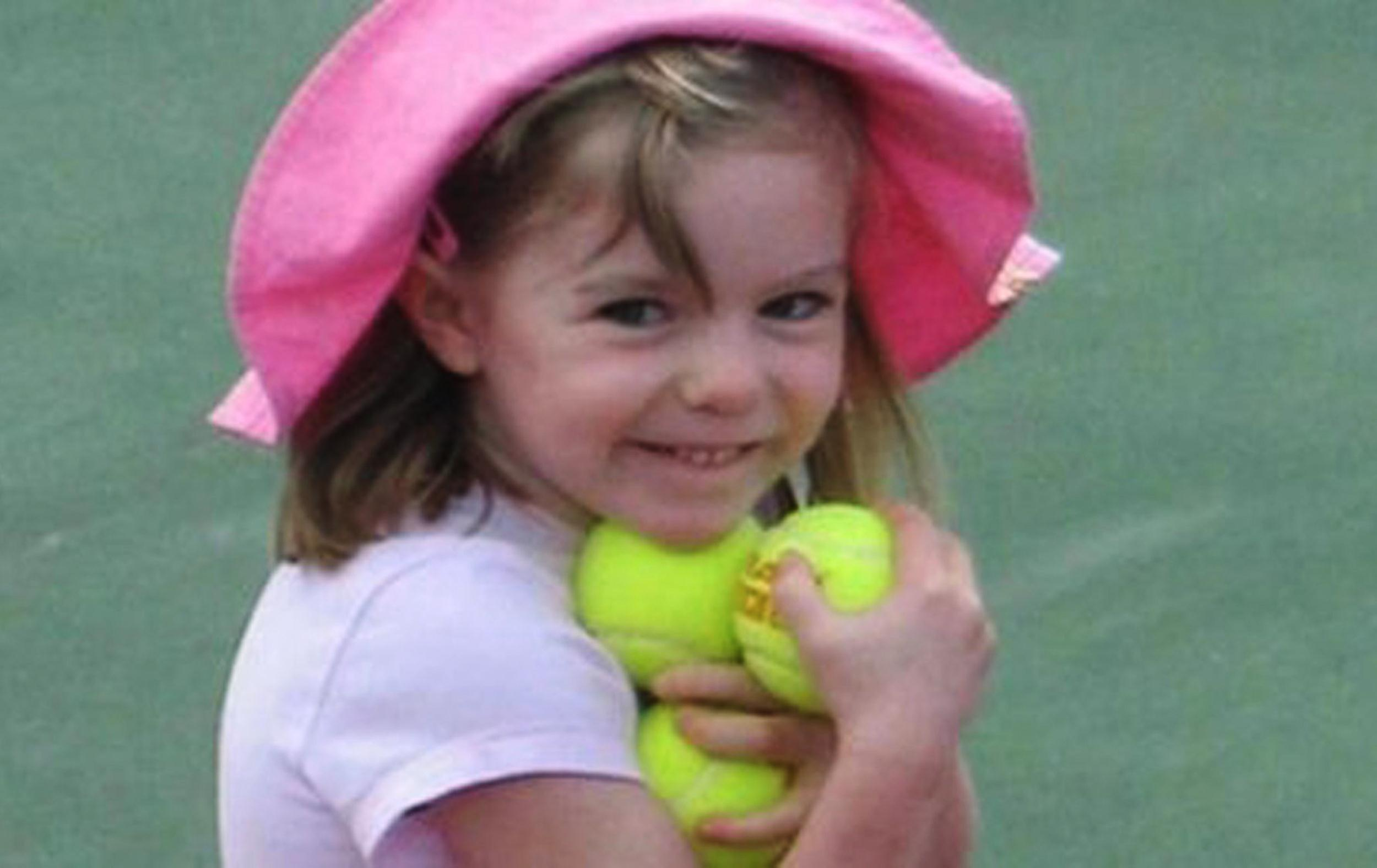 Image: Missing British girl Madeleine McCann poses in an undated photo released by police after she went missing from a Portuguese holiday complex.