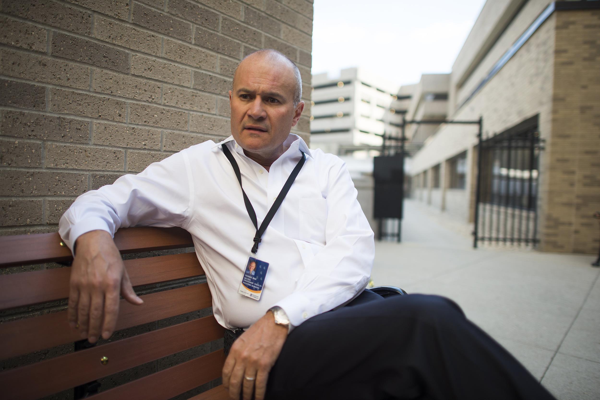 Image: Dr. Thomas Inge, the surgeon