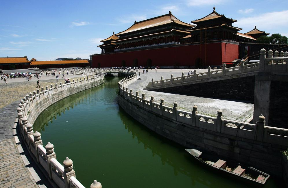 Image: The Forbidden City in Beijing, China