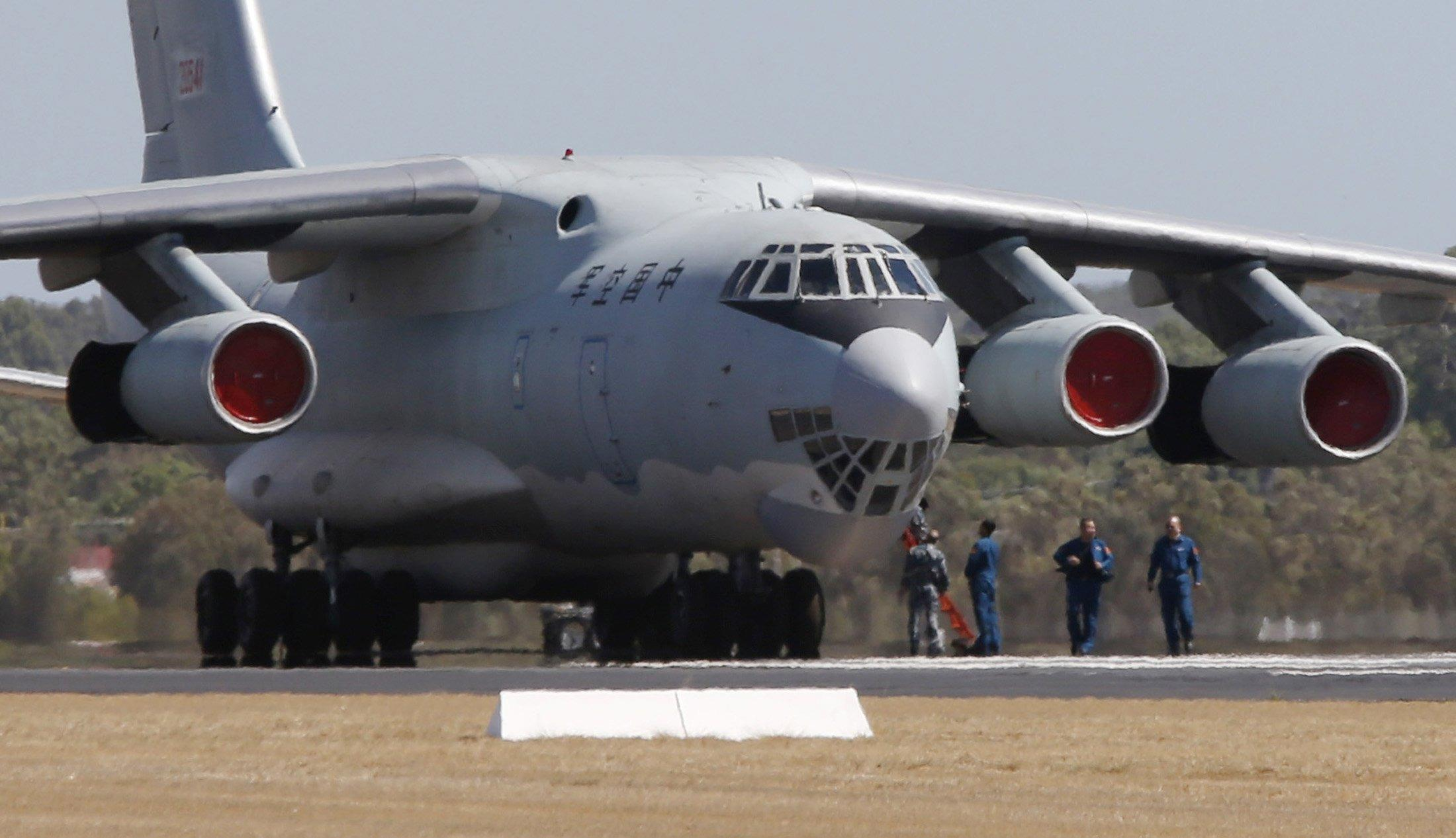 Image: Chinese Air Force Ilyushin Il-76 aircraft