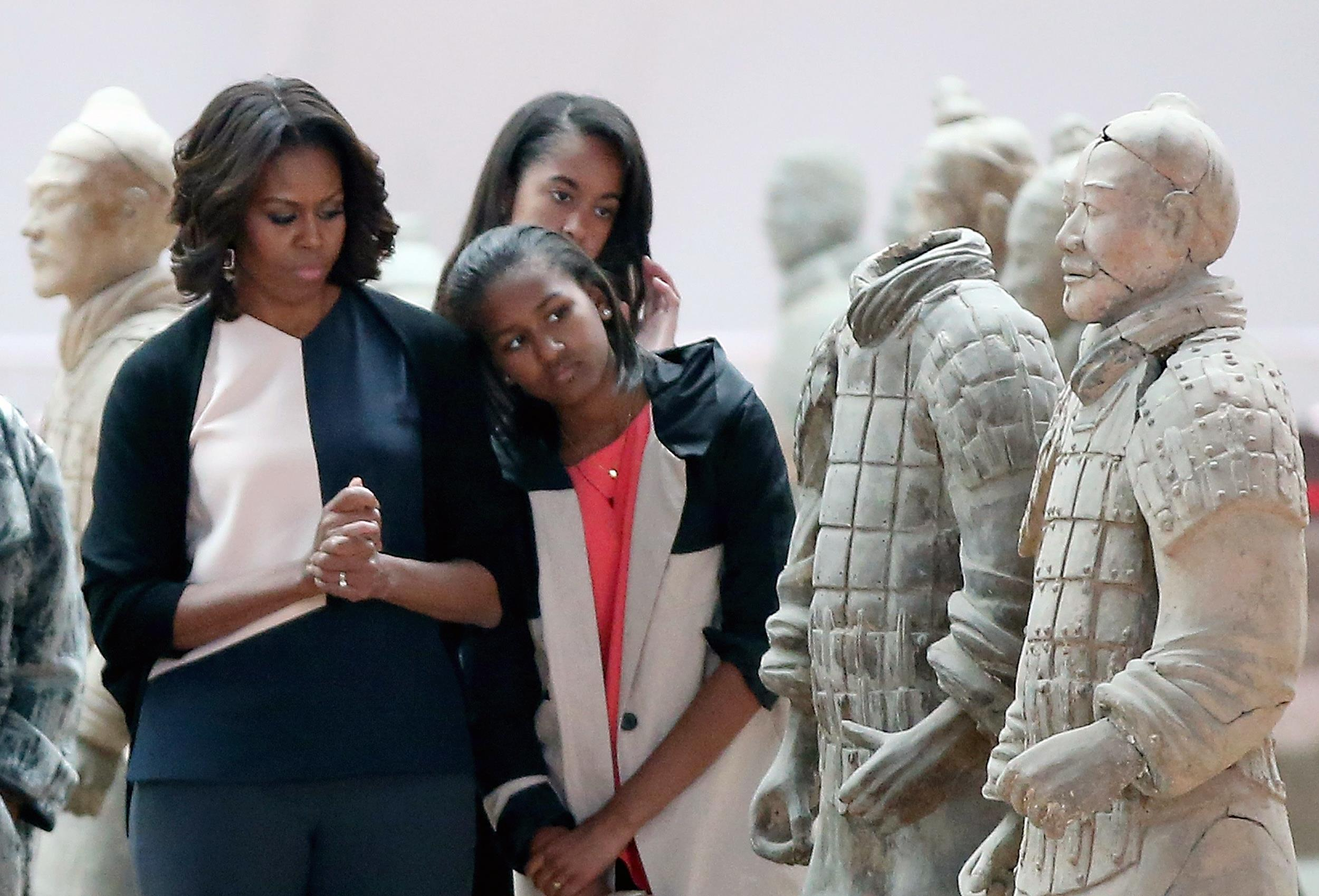 Image: First Lady Michelle Obama Travels to China - Day 5